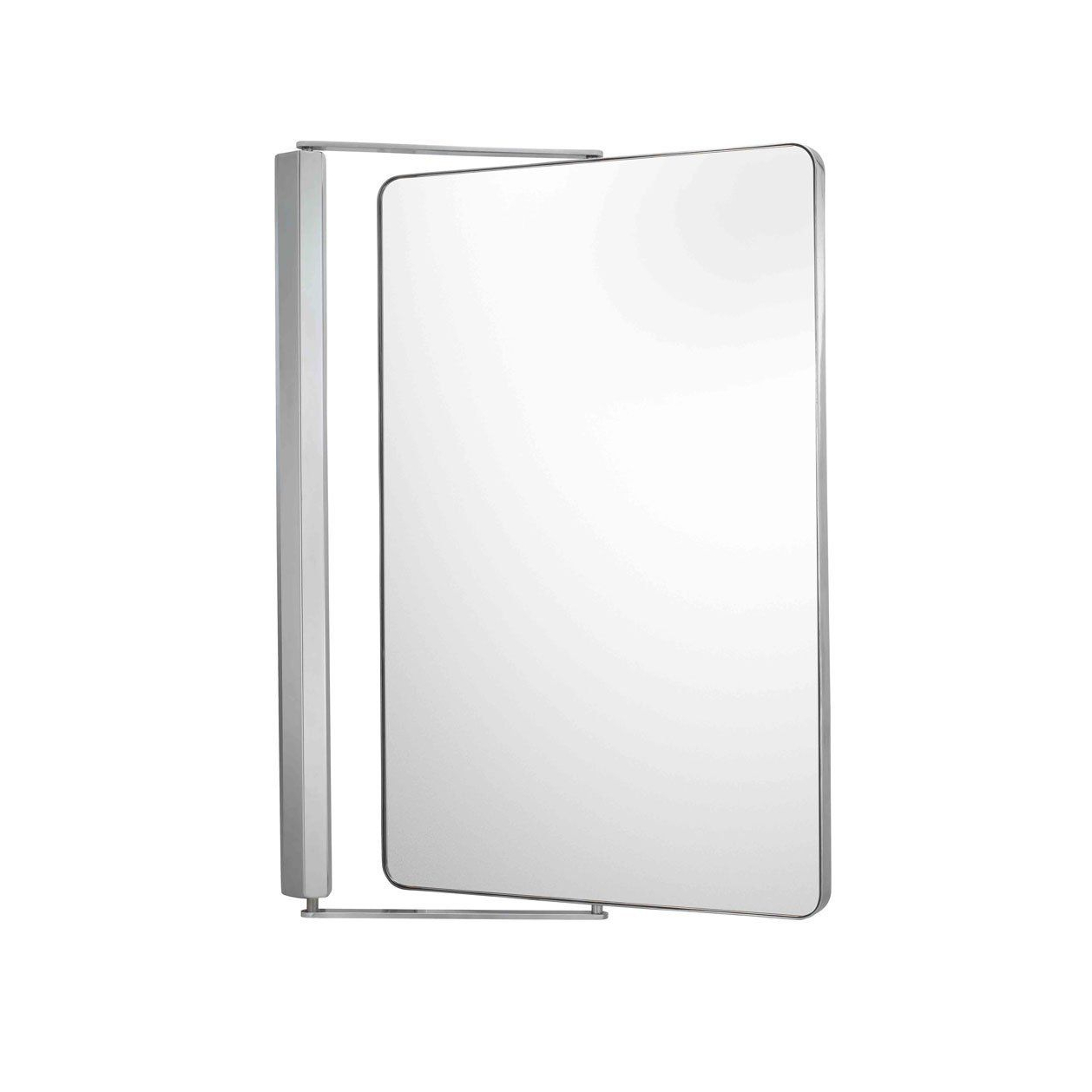 Extension Arm Wall Mirrors Regarding Well Liked Amazon – Aptations 23345 Extension Arm Wall Mirror, Chrome (Gallery 18 of 20)