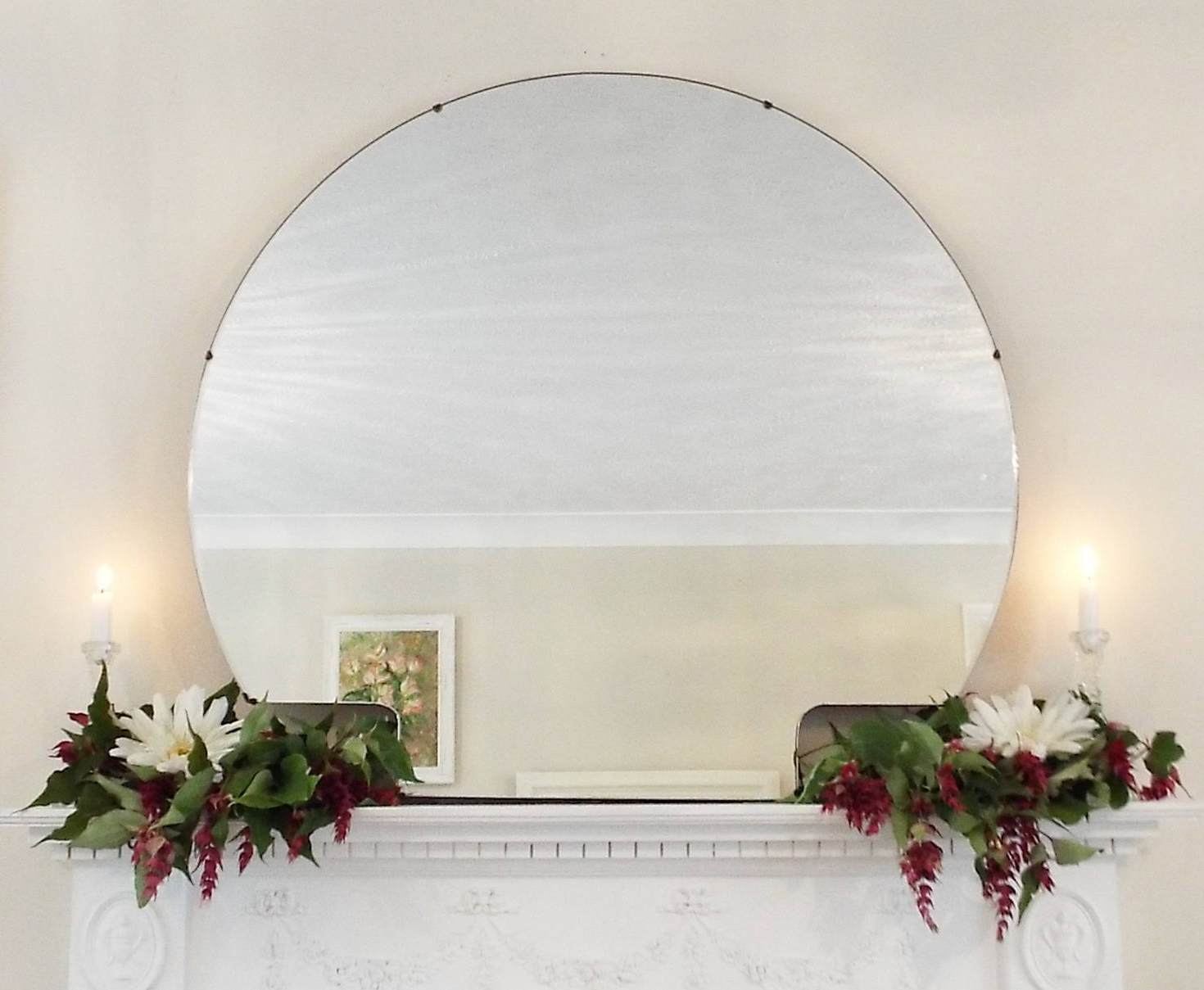 Extra Large Vintage Mirror Art Deco Mirror Frameless Mirror Bevel Edge Mirror Feature Wall Mirror Intended For Widely Used Extra Large Bevelled Edge Wall Mirrors (View 19 of 20)