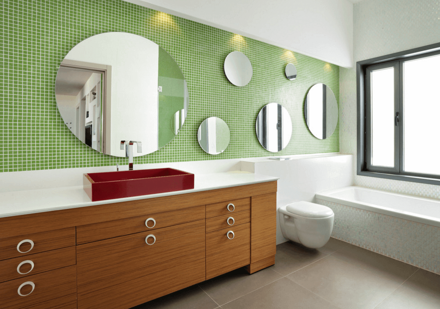 Featured Photo of Small Bathroom Wall Mirrors