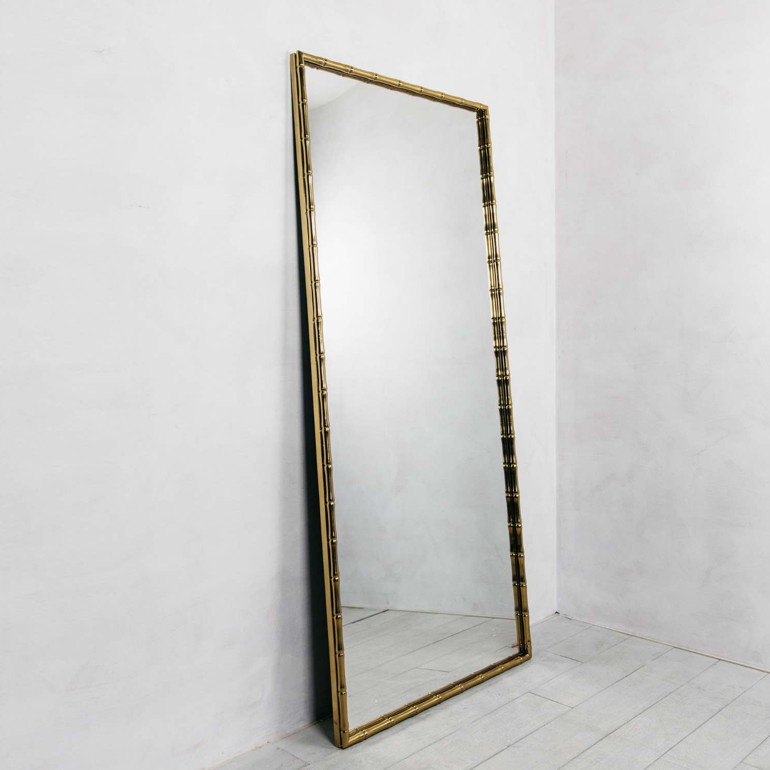 Famous Bamboo Frame Wall Mirror (View 16 of 20)