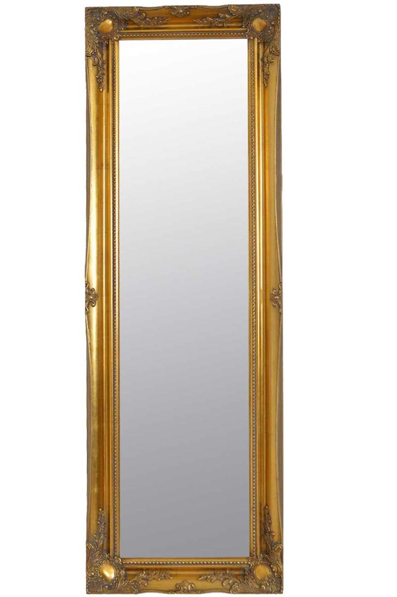 Famous Big Size Wall Mirrors For 4ft6 X 1ft6 137cm X 46cm Large Gold Antique Ornate Design Dress Big (View 11 of 20)