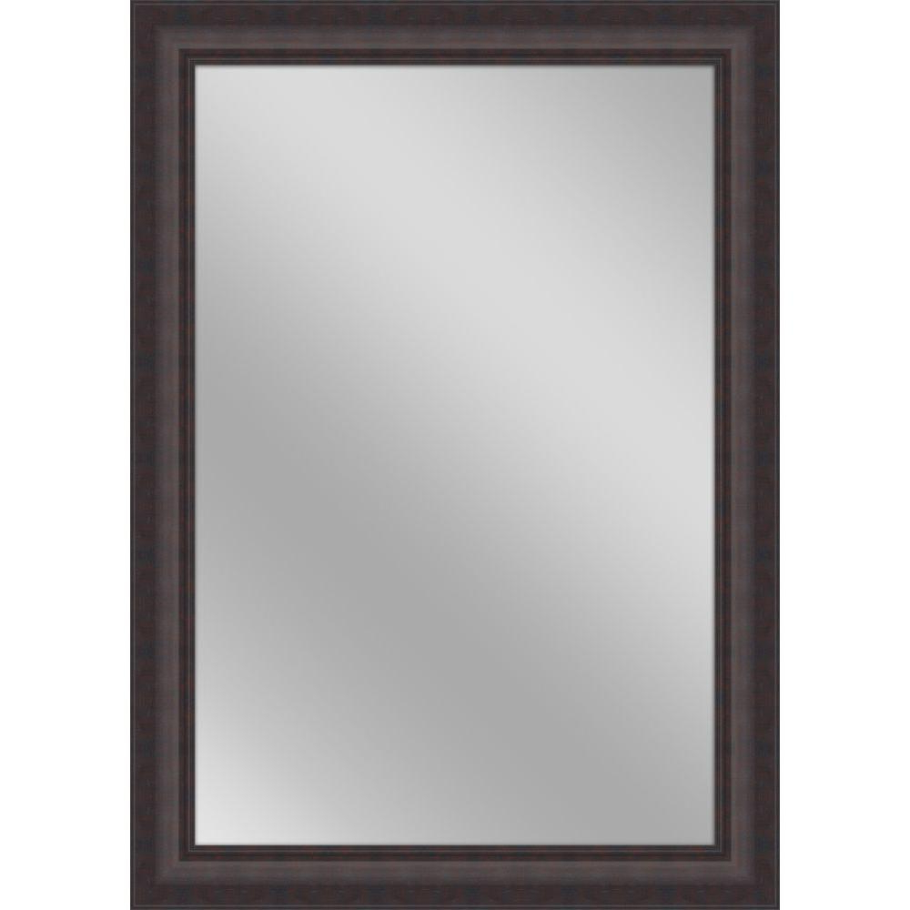 Famous Brown Wall Mirrors With 30 In. X 42 In (View 2 of 20)