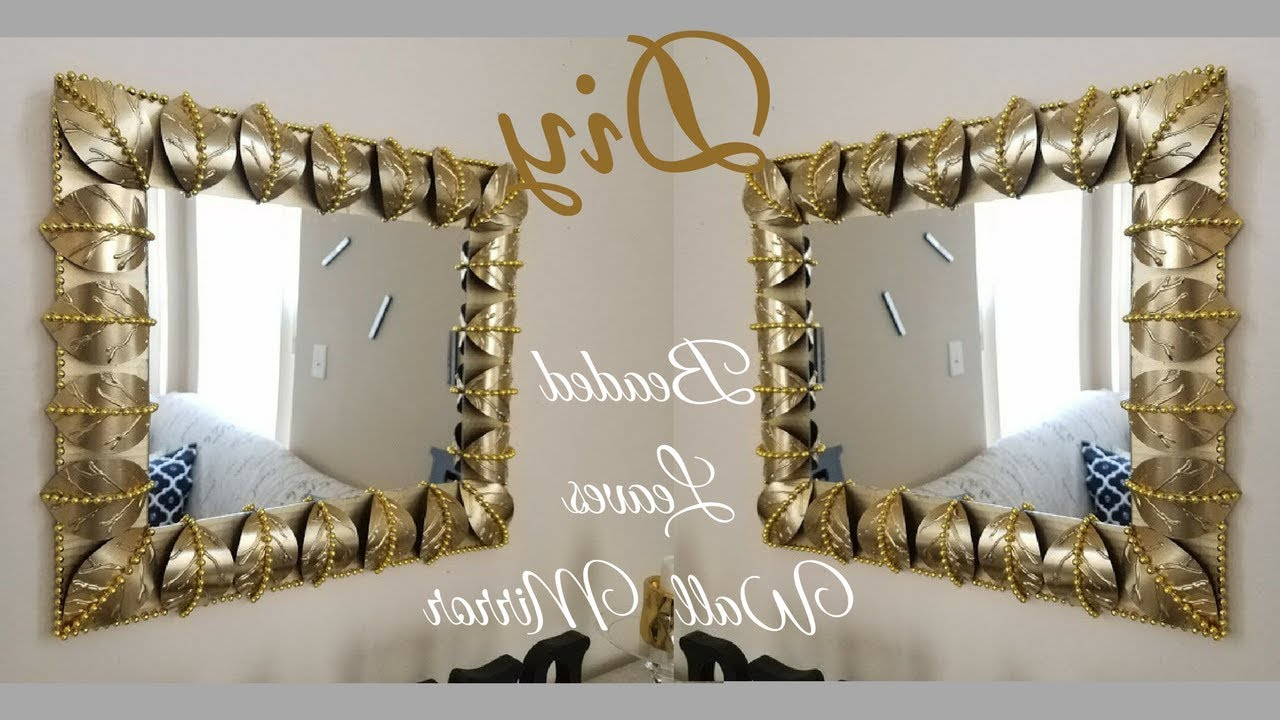 Famous Diy Metallic Gold Wall Decor (Gallery 16 of 20)