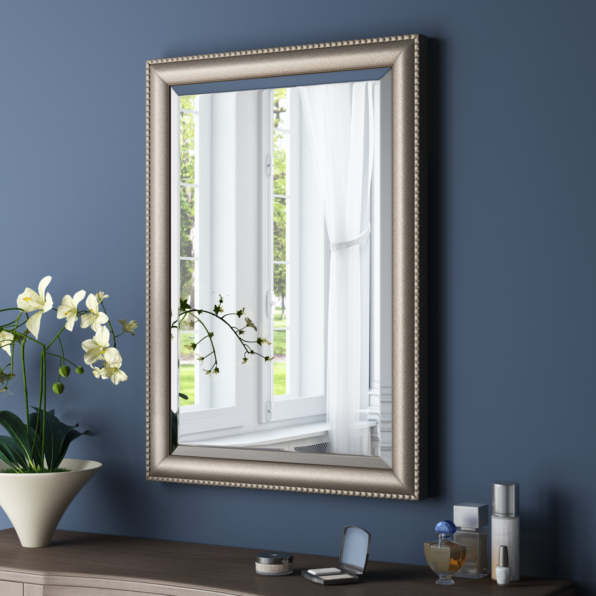 Famous Eriq Framed Wall Mirrors Intended For Rectangle Framed Accent Mirror (View 7 of 20)