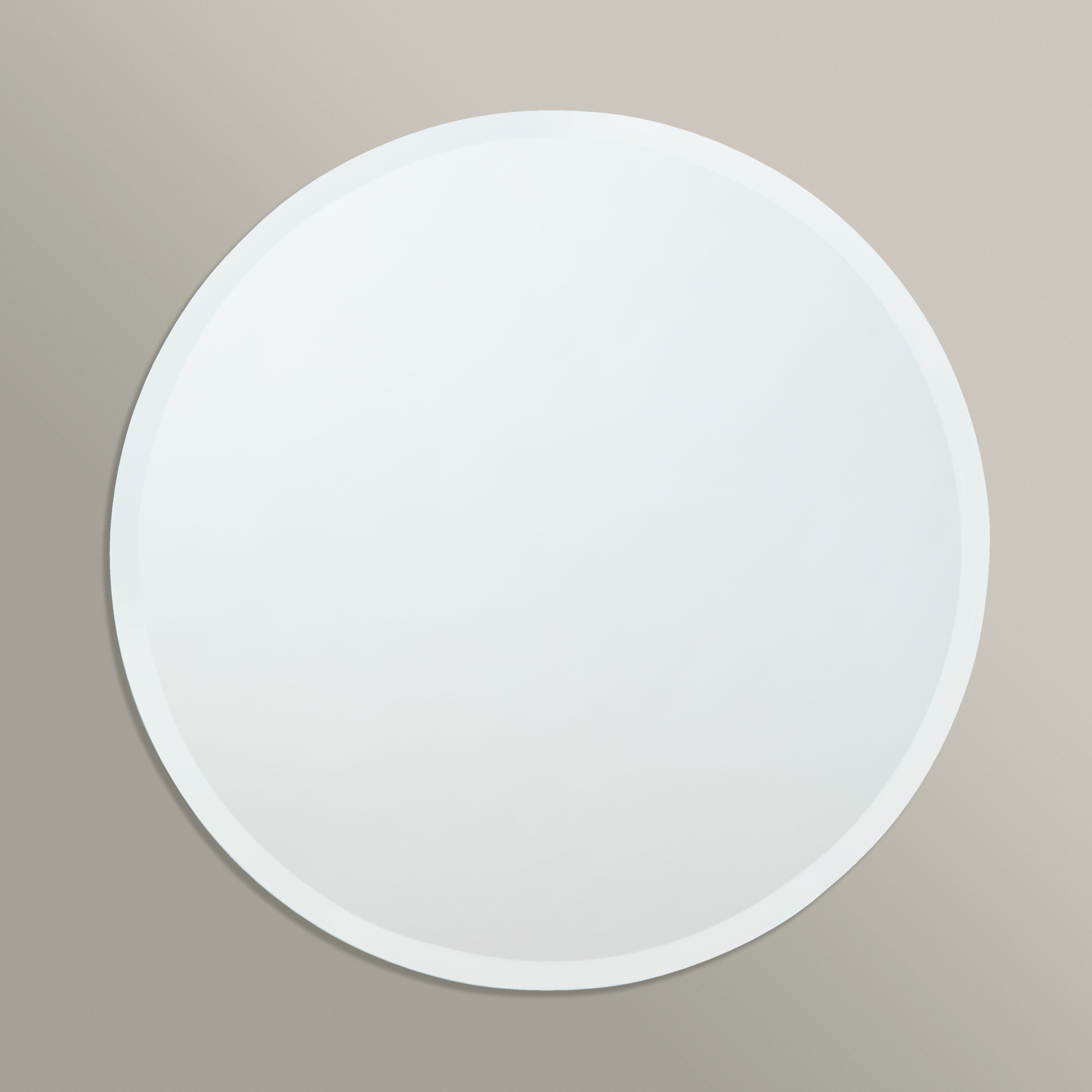 Famous Gaunts Earthcott Modern & Contemporary Beveled Accent Mirrors For Printers Row Contemporary Beveled Edge Round Wall Mirror (View 13 of 20)