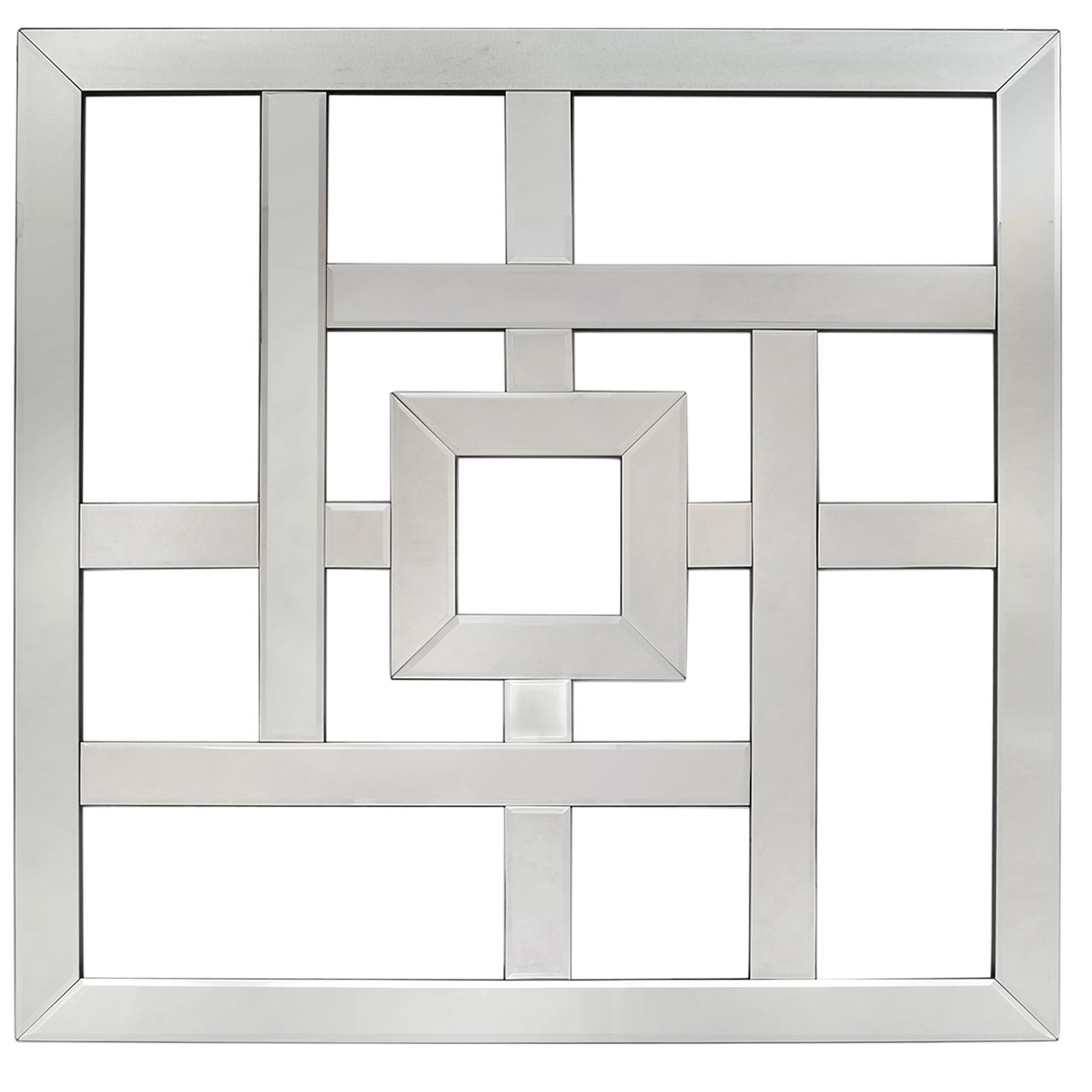 Famous Geometric Mirror Wall Art With Geometric Wall Mirrors (View 19 of 20)