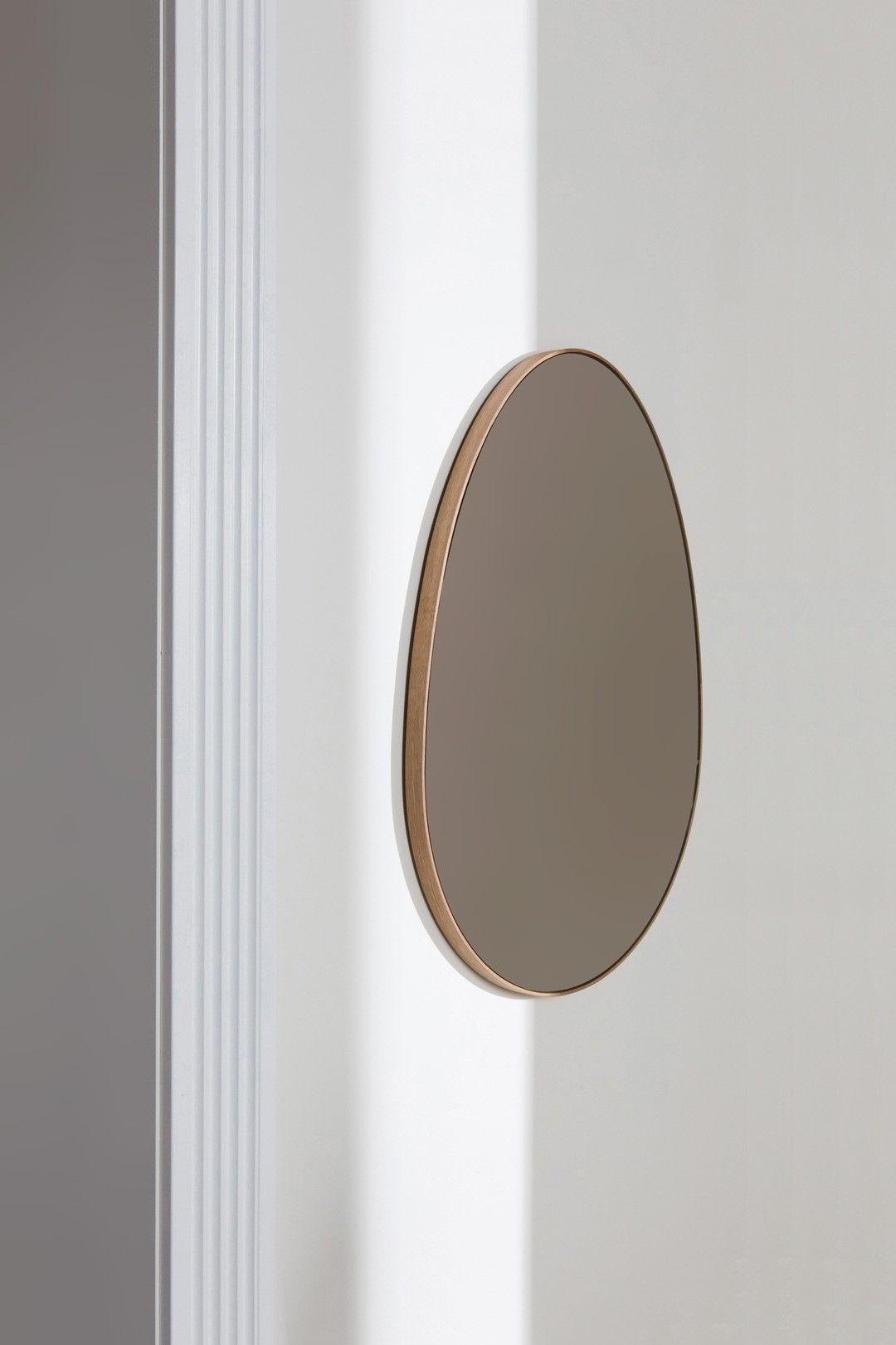 Famous High End Wall Mirrors With Regard To Bower Bower Studios Mirrors Egg Mirror Decorative Bronze Modern (View 18 of 20)