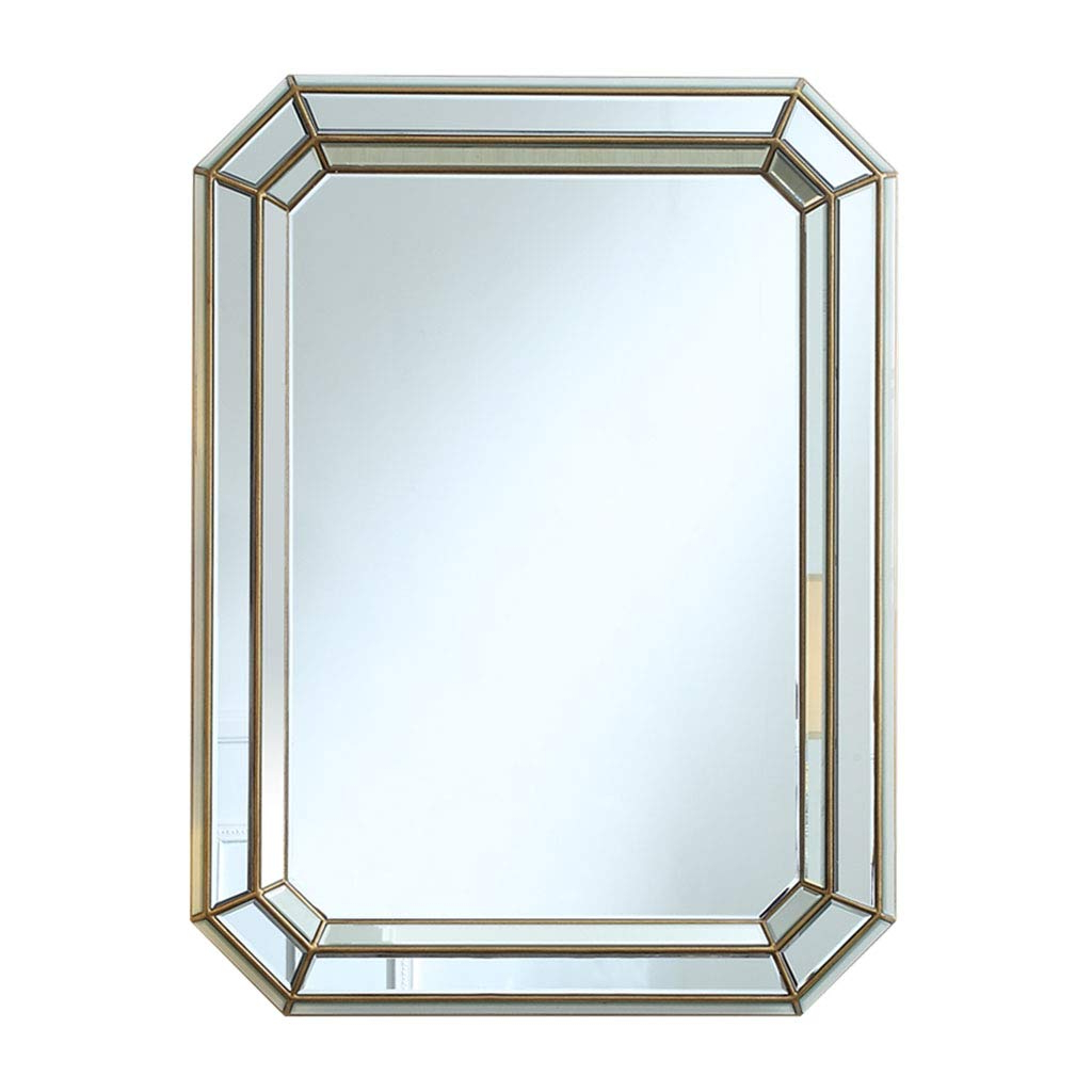 Famous Large Rectangular Wall Mirrors In Amazon: Bathroom Mirrors Wall Mirror Large Mirror (View 14 of 20)