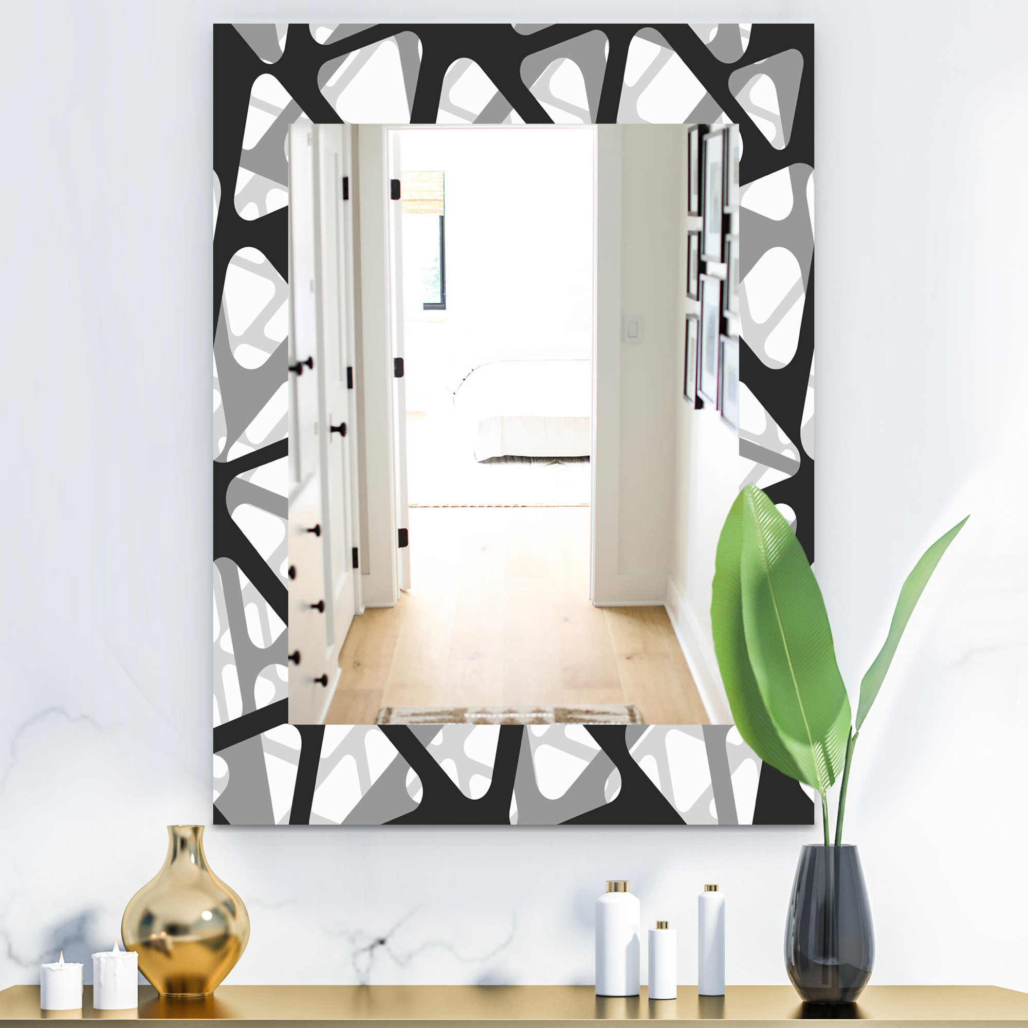 Famous Mid Century Modern Frameless Wall Mirror Pertaining To Mid Century Modern Wall Mirrors (View 8 of 20)