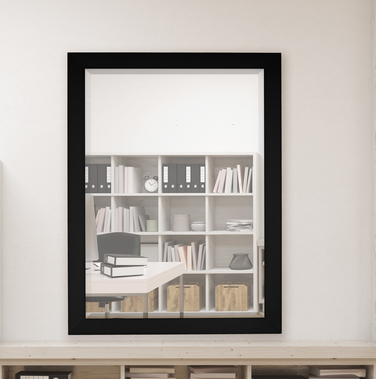 Famous Modern & Contemporary Beveled Overmantel Mirrors Regarding Humbert Modern & Contemporary Beveled Accent Mirror (View 5 of 20)