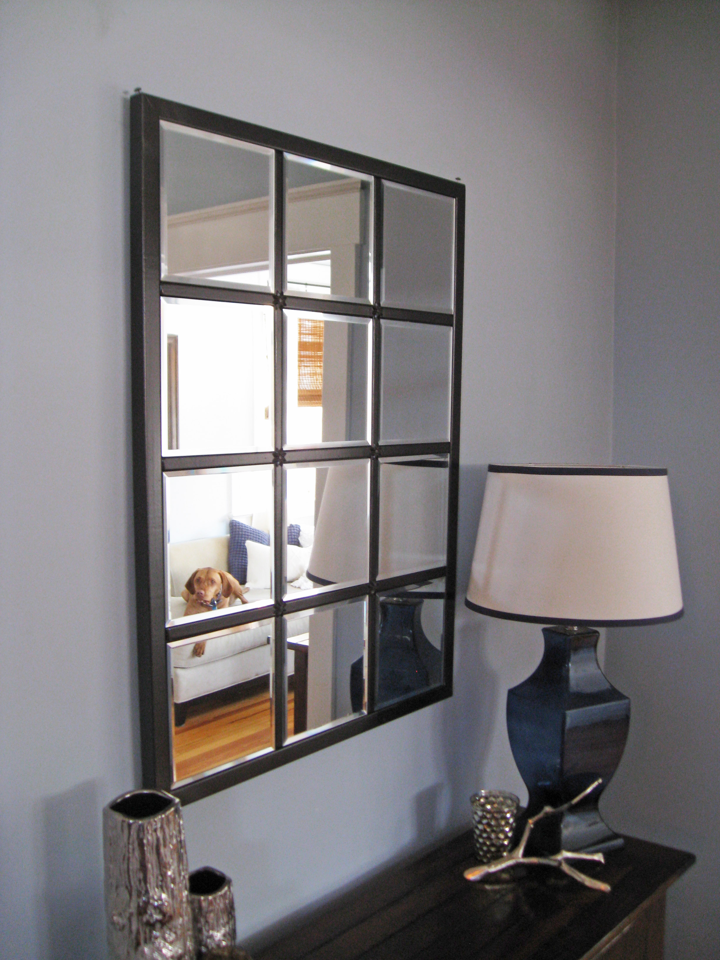 Famous Multi Panel Wall Mirrors Inside Bathroom: Inspiring Home Furniture Completed With Unique Multipanel (View 5 of 20)