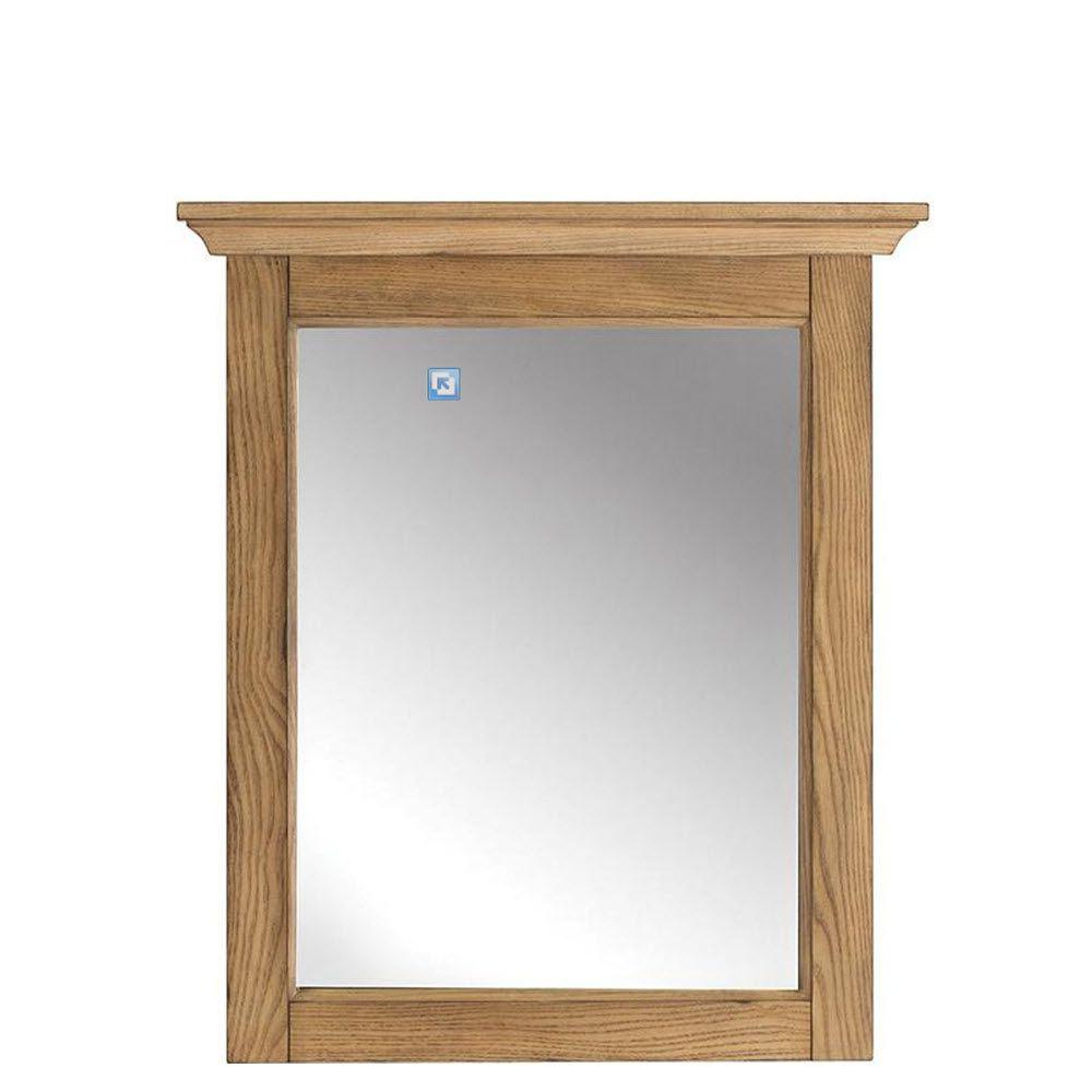 Famous Oak Framed Wall Mirrors Within Marlo 30 In. H X 26 In (View 6 of 20)