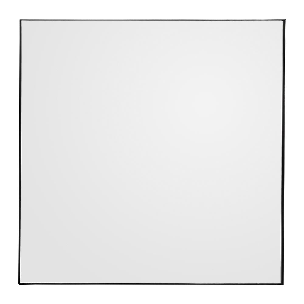 Famous Square Wall Mirrors With Quadro Square Wall Mirror – Black (View 2 of 20)