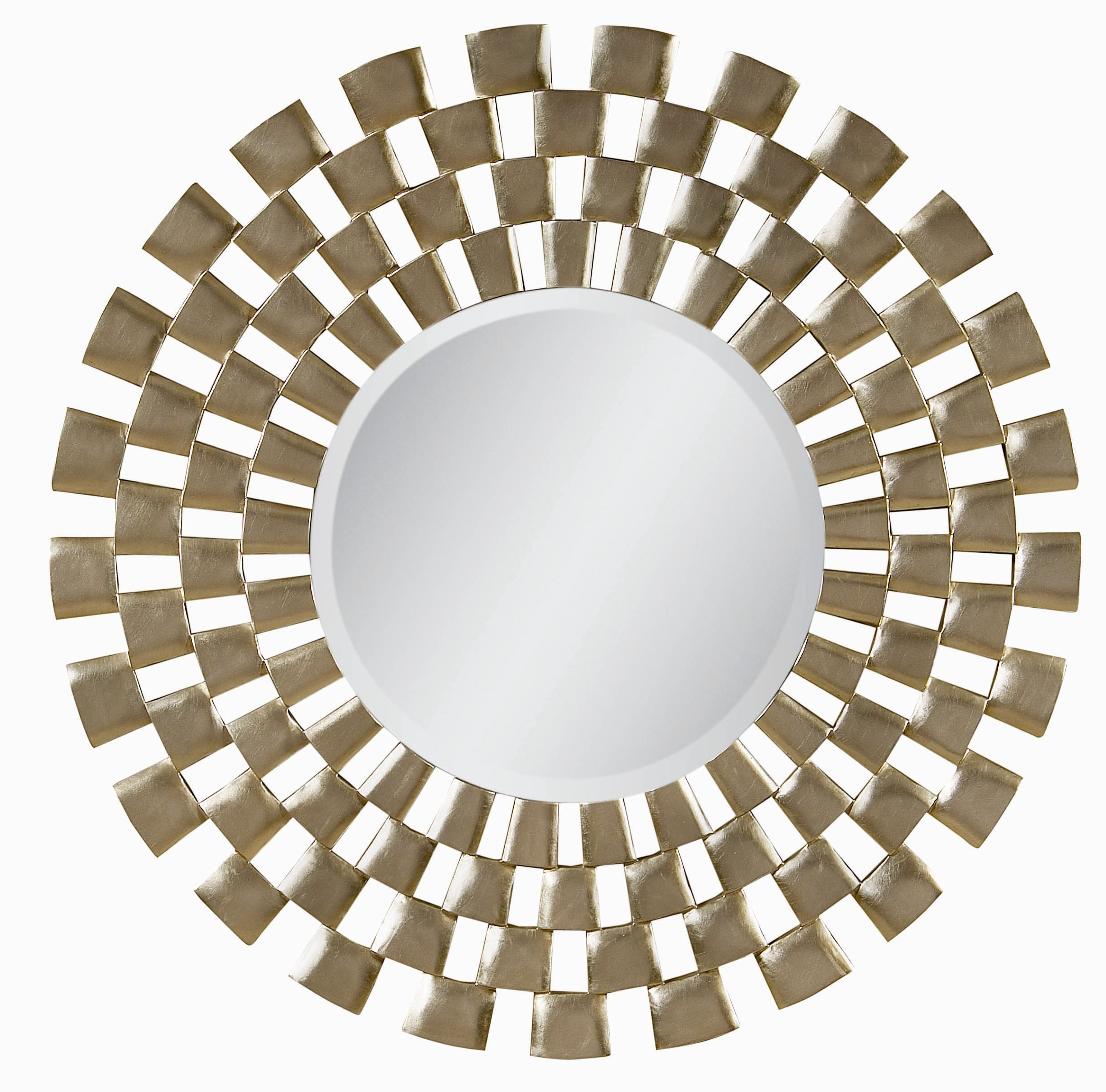 Famous Sunburst Antique Silver Leaf And Gold Washed Plastic Wall Mirror Pertaining To Plastic Wall Mirrors (View 6 of 20)