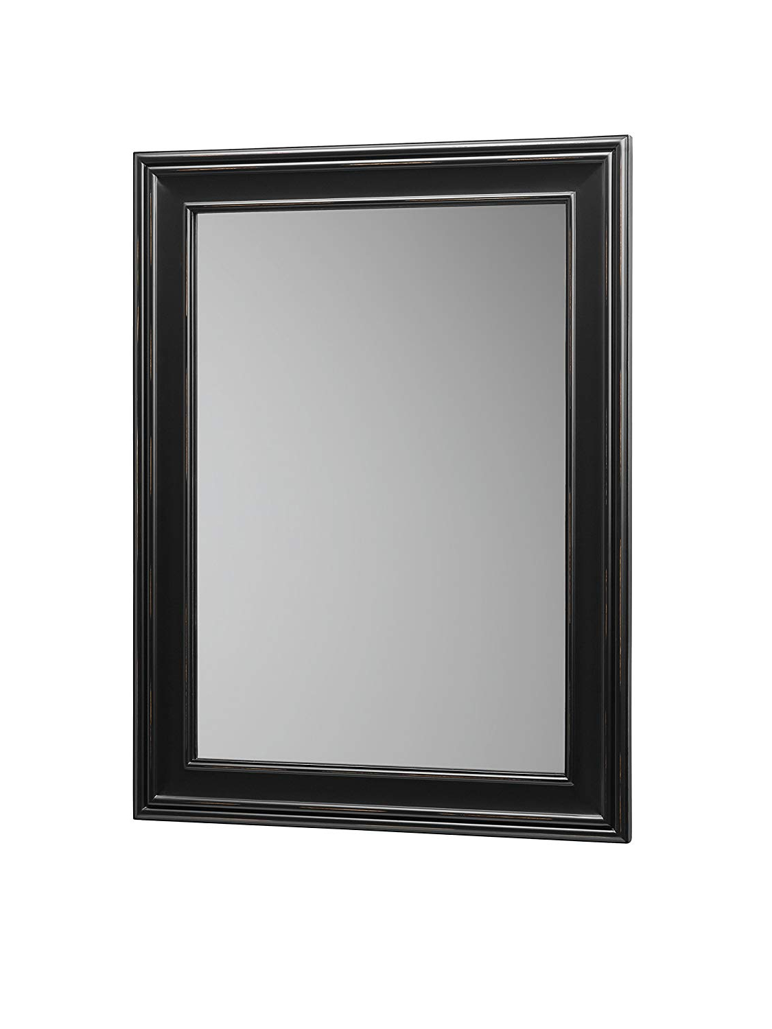 "Famous Traditional Square Glass Wall Mirrors In Amazon: Ronbow William 24"" X 32"" Traditional Solid Wood Frame (View 14 of 20)"