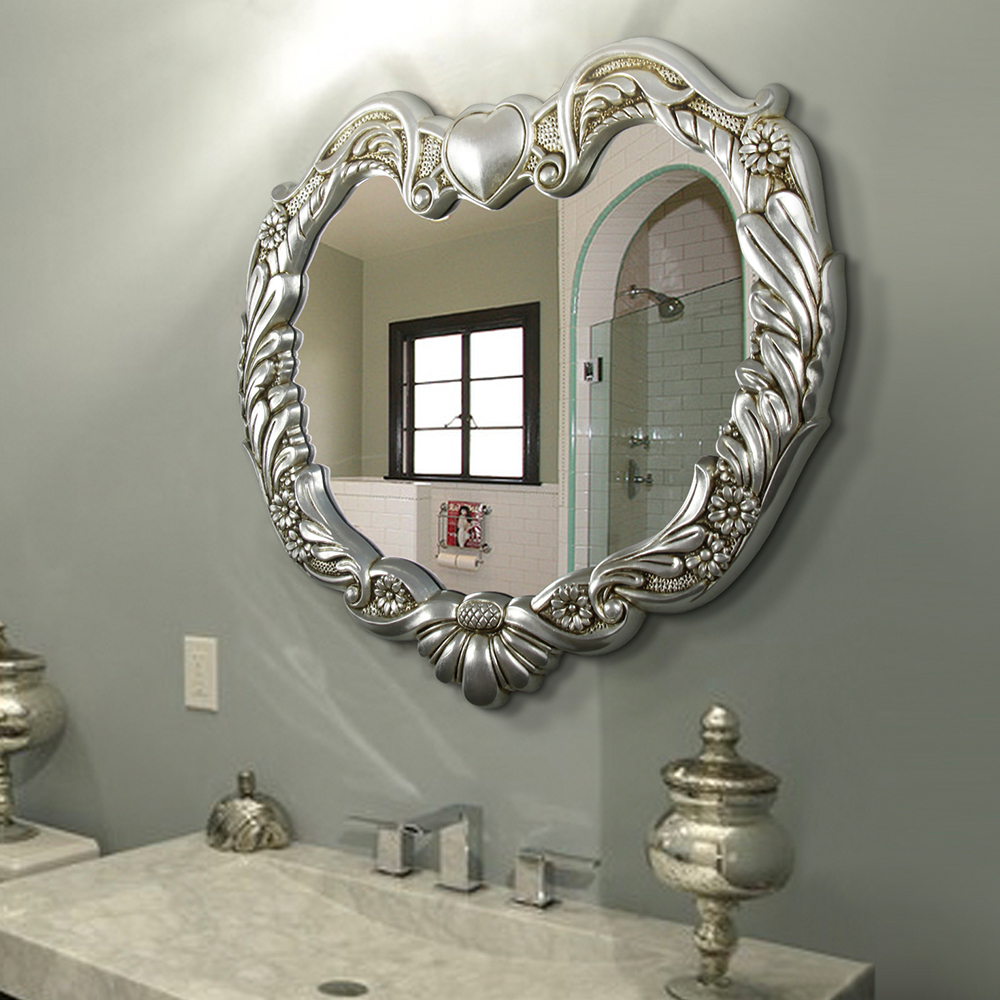 Famous Wall Mounted Decorative Mirror For Beauty Salon – Buy Decorative Wall  Beauty Salon,wall Mirrors Decorative Cheap,antique Mirror Product On  Alibaba Inside Salon Wall Mirrors (View 2 of 20)