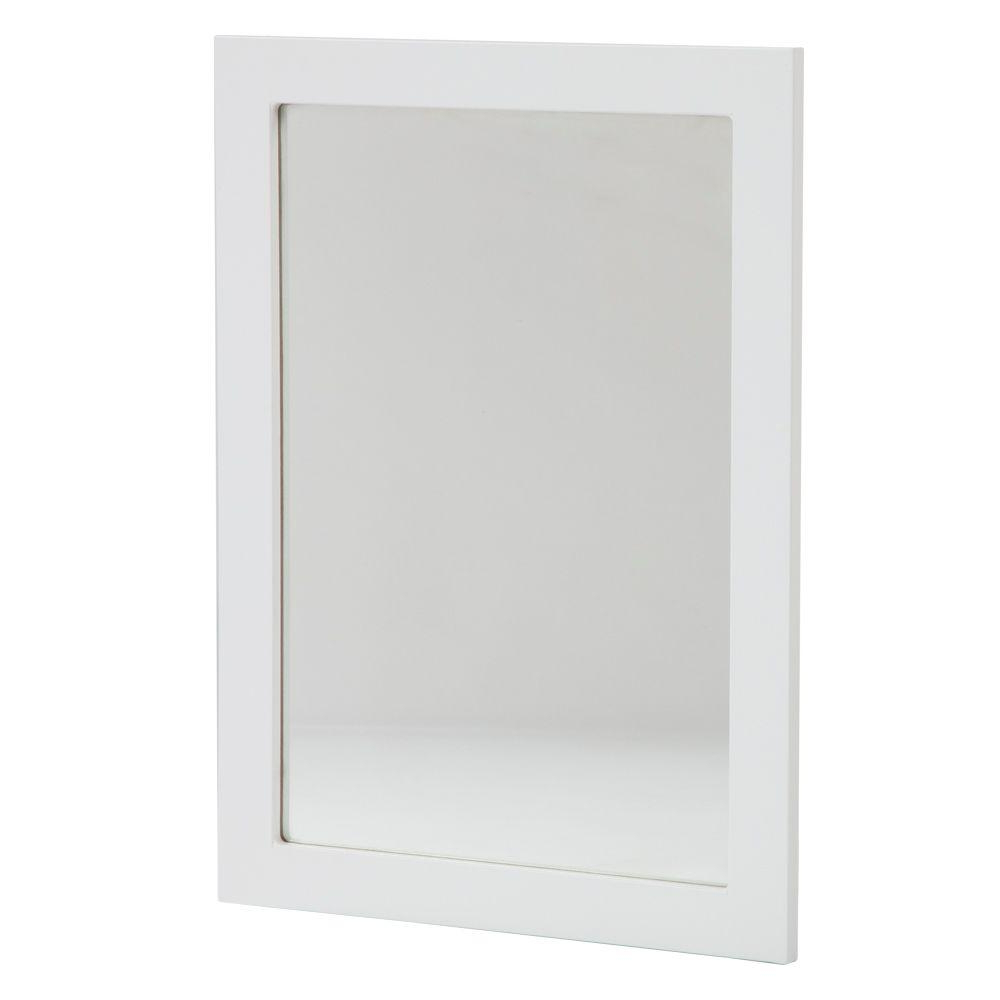 Featured Photo of White Framed Wall Mirrors
