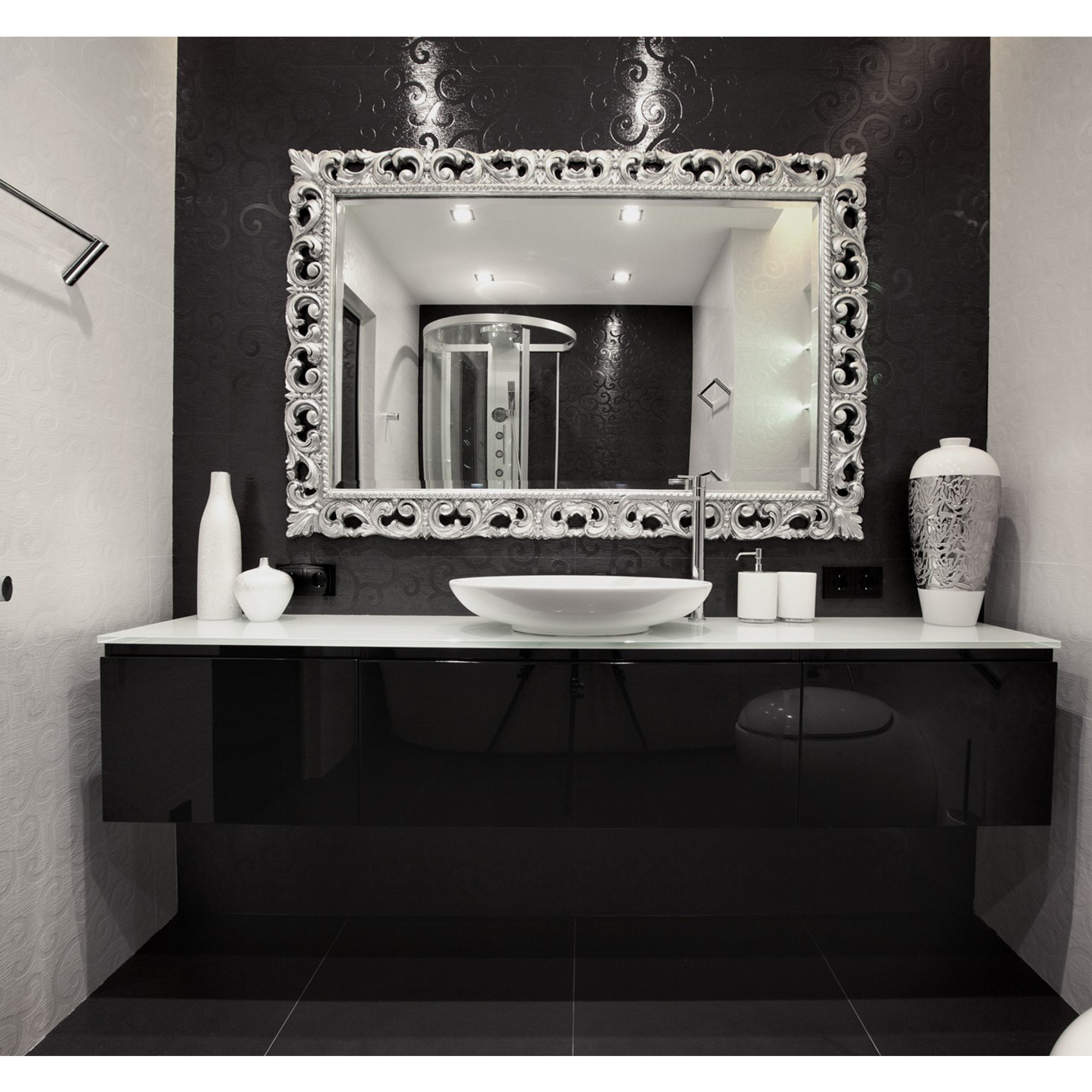 Fancy Bathroom Wall Mirrors For 2019 34 Ingenious Fancy Bathroom Toilet Privacy Options That Will Make (View 4 of 20)