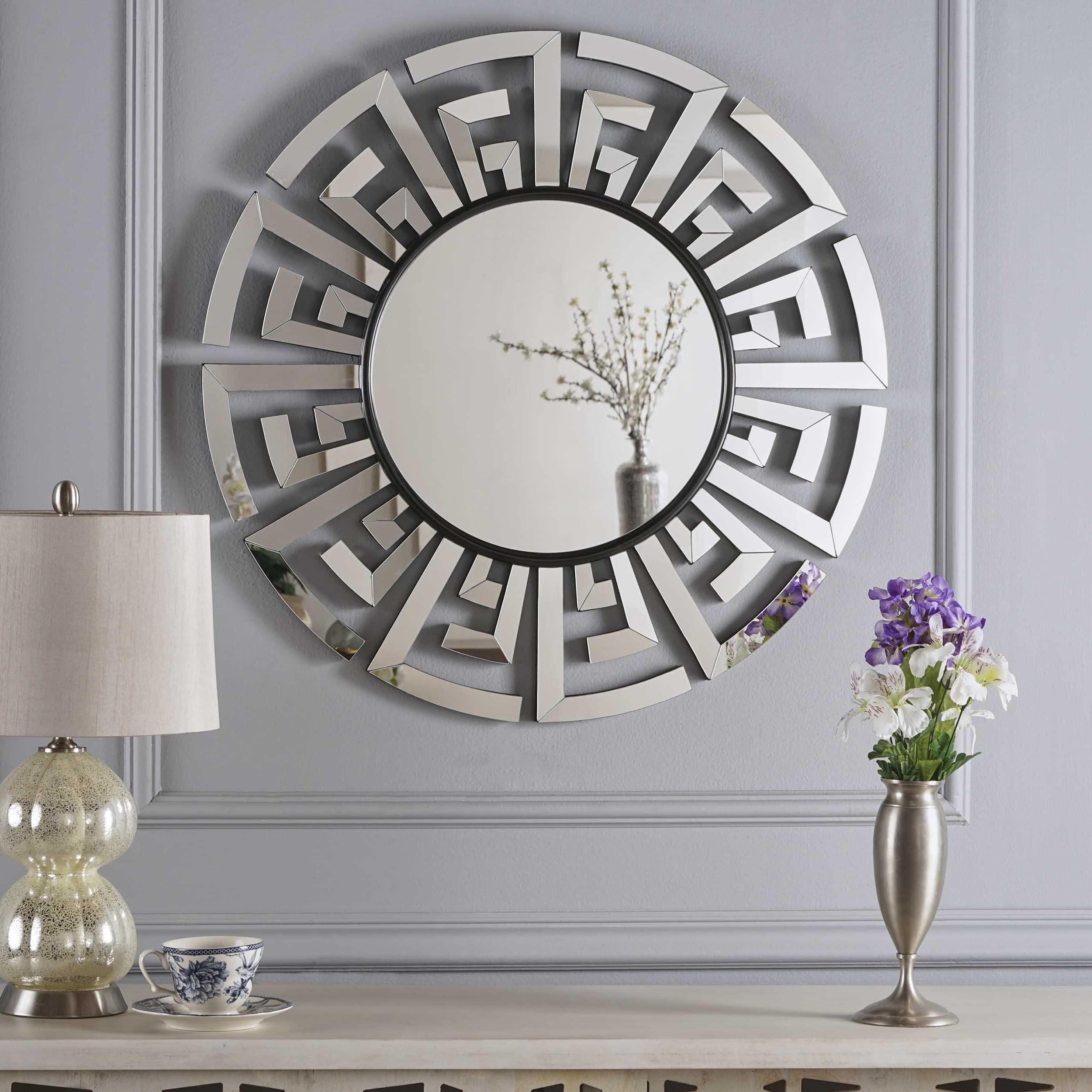 Far East Chinese Inspired Wall Mirror (View 4 of 20)