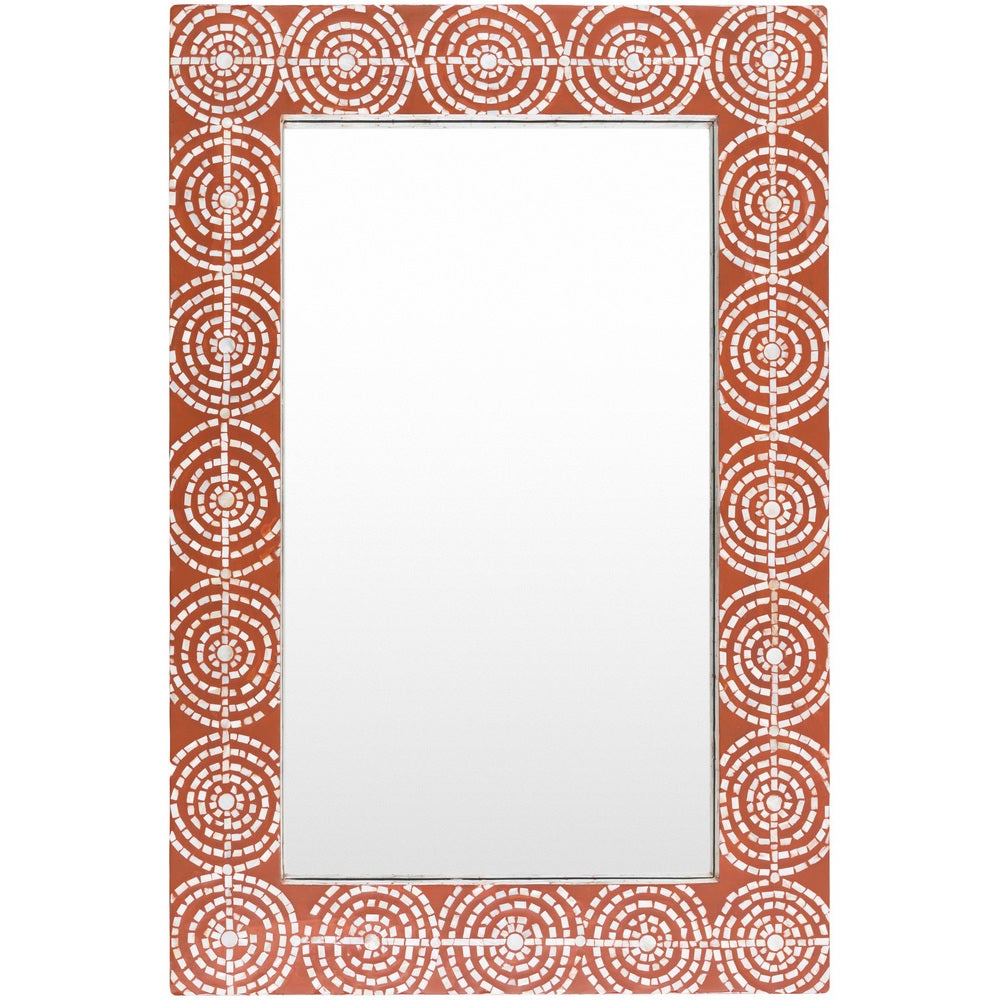 "Fashionable 24 X 36 Wall Mirrors With Jaeraen Wall Mirror (24 X 36) – Red – 24"" X 36"" (View 10 of 20)"