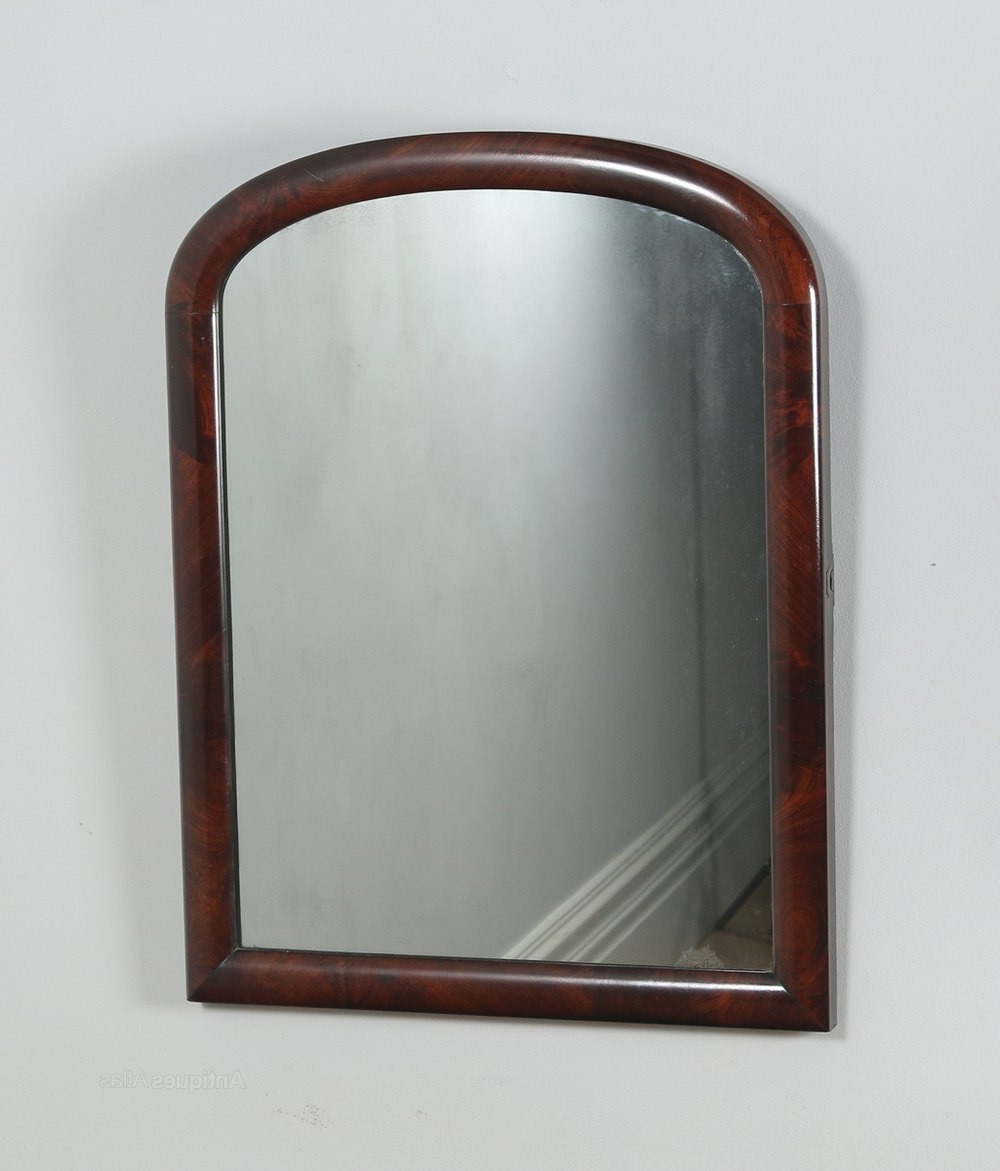 Fashionable Antiques Atlas – Victorian Flame Mahogany Rectangular Wall Mirror Pertaining To Victorian Wall Mirrors (View 15 of 20)