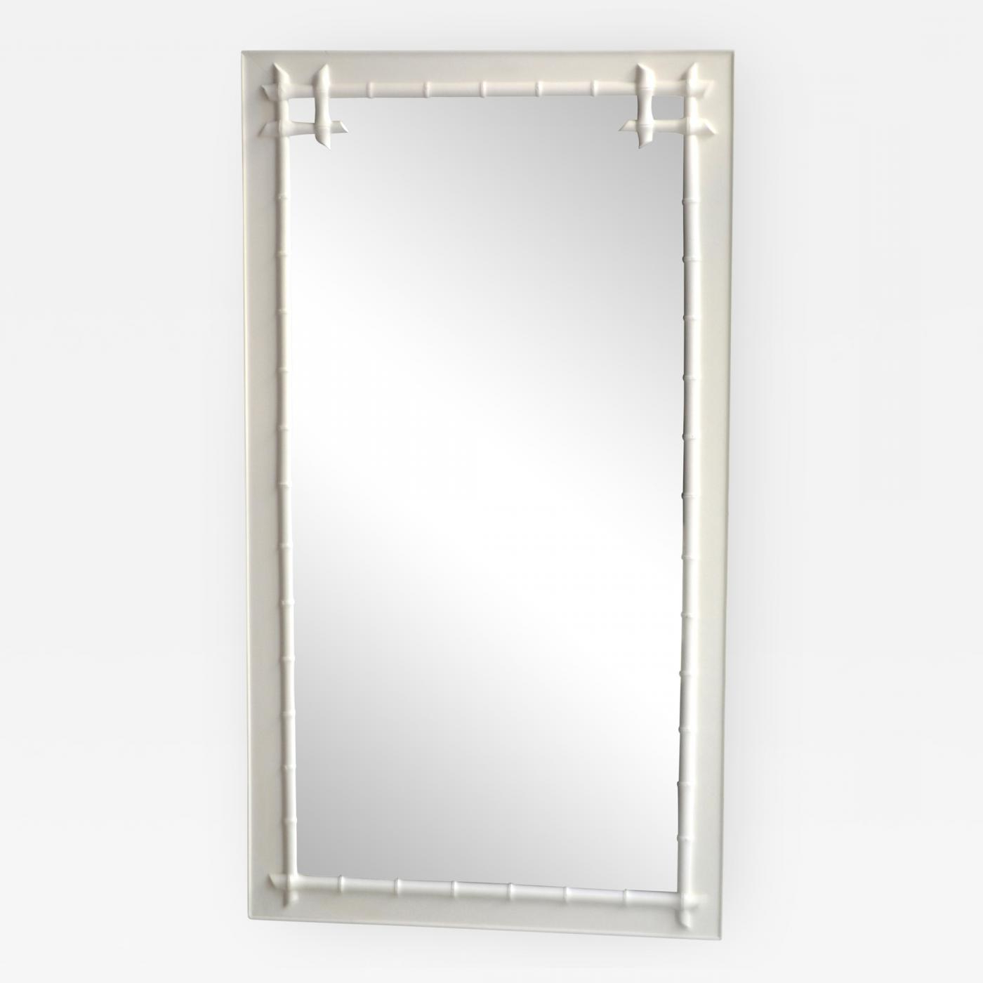 Fashionable Bamboo Wall Mirrors Pertaining To Hollywood Regency Style Faux Bamboo Wall Mirror (View 18 of 20)