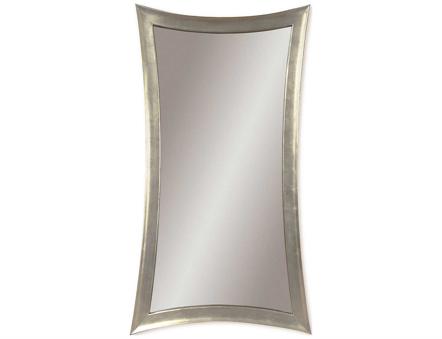Fashionable Bassett Wall Mirrors For Bassett Mirror Thoroughly Modern 36 X 48 Silver Leaf Hour Glass Wall Mirror (View 14 of 20)
