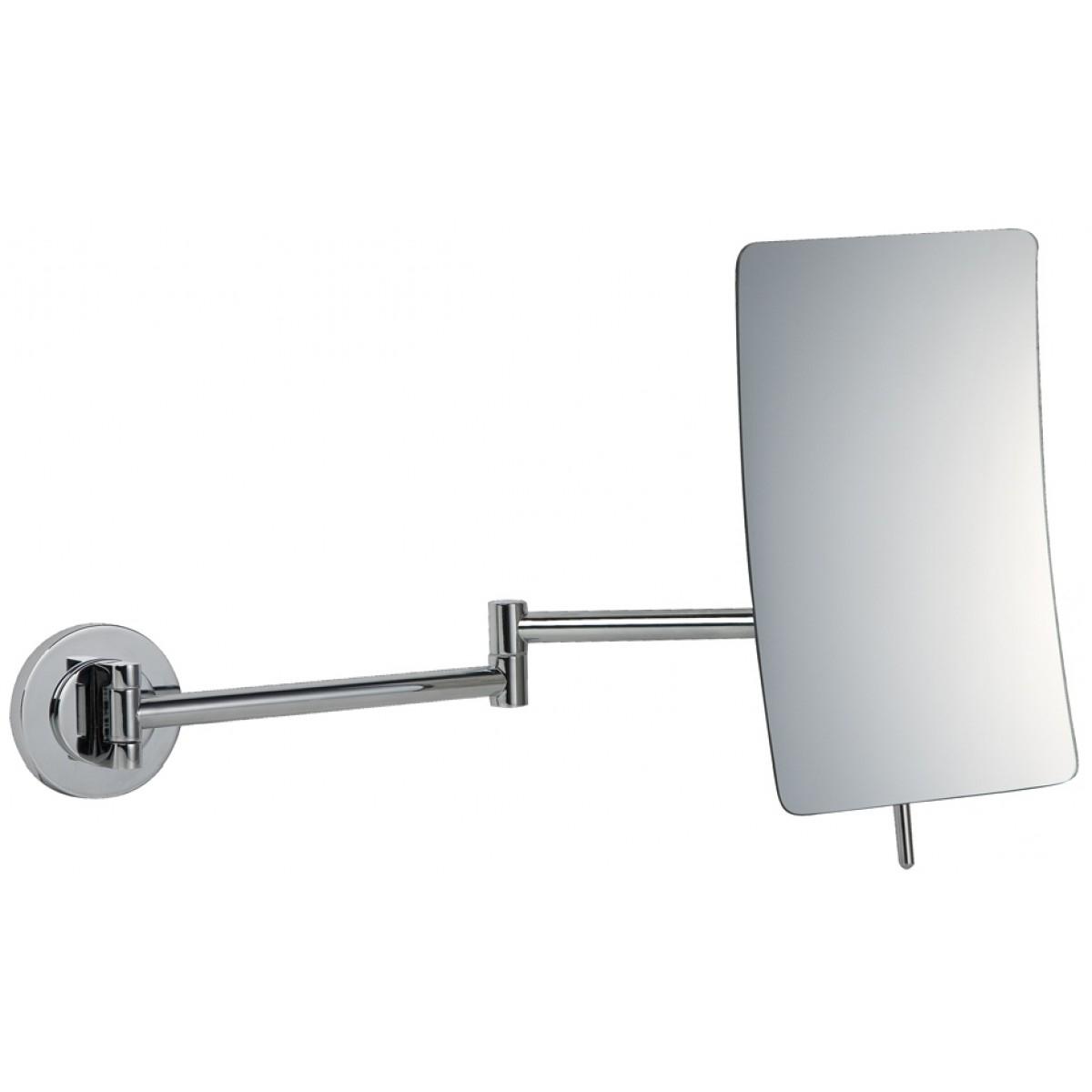 Fashionable Bathroom Origins Square 5X Magnifying Wall Mirror – 155 X 205Mm With Magnifying Wall Mirrors For Bathroom (View 6 of 20)
