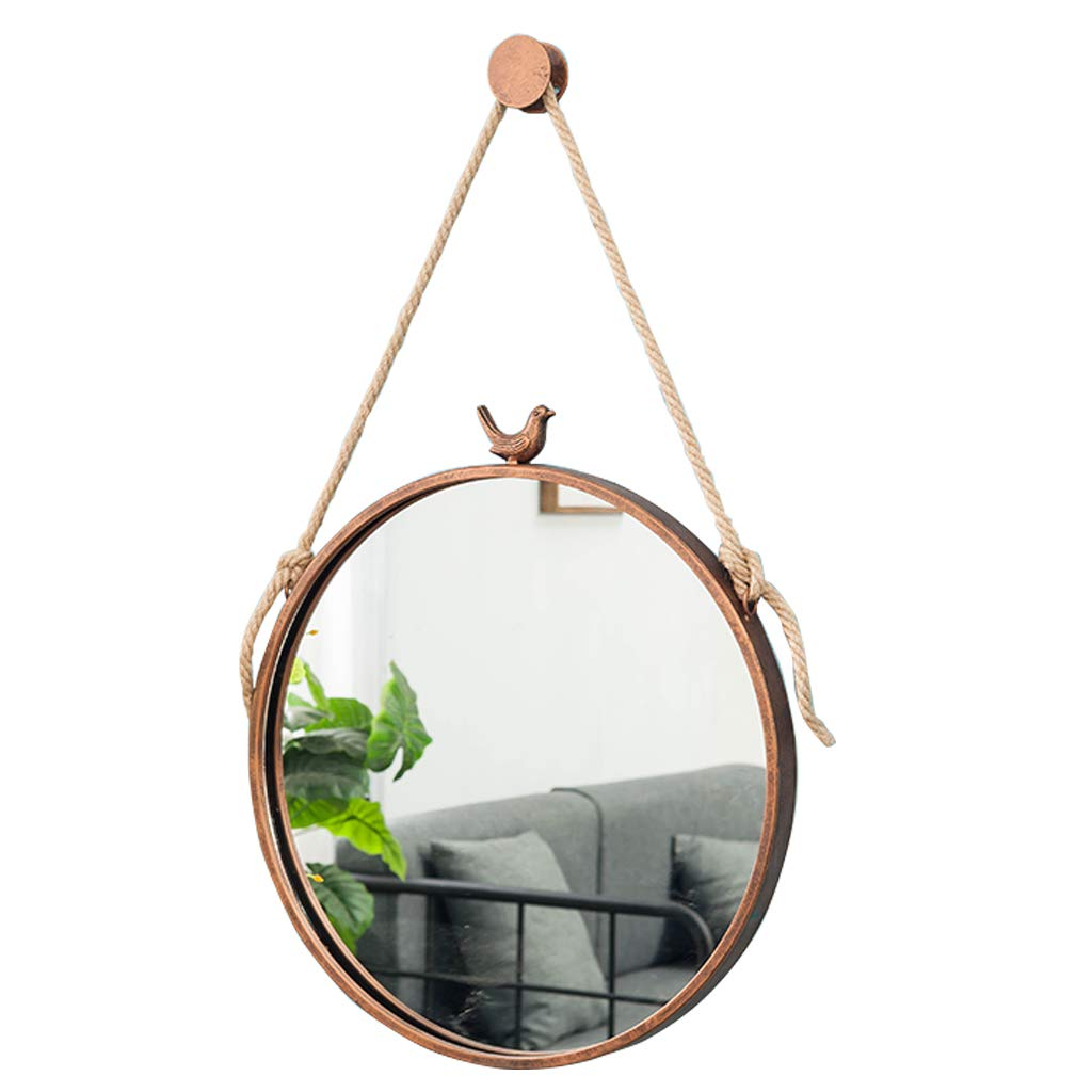 Fashionable Bird Wall Mirrors With Amazon: Metal Bathroom Mirrors With Bird Wall Mounted Vanity (View 12 of 20)