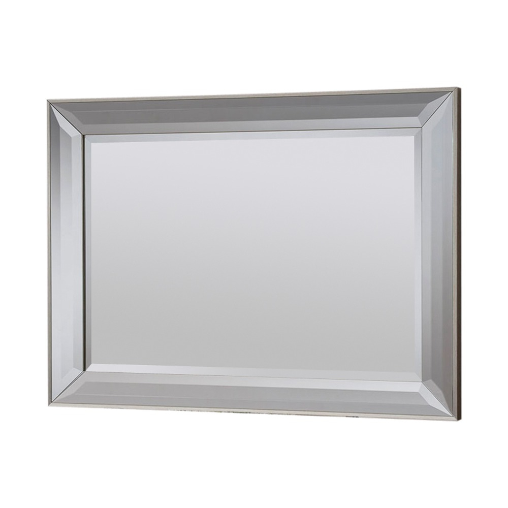 Fashionable Clifton Silver Wall Mirror – 101.5cm X (View 17 of 20)