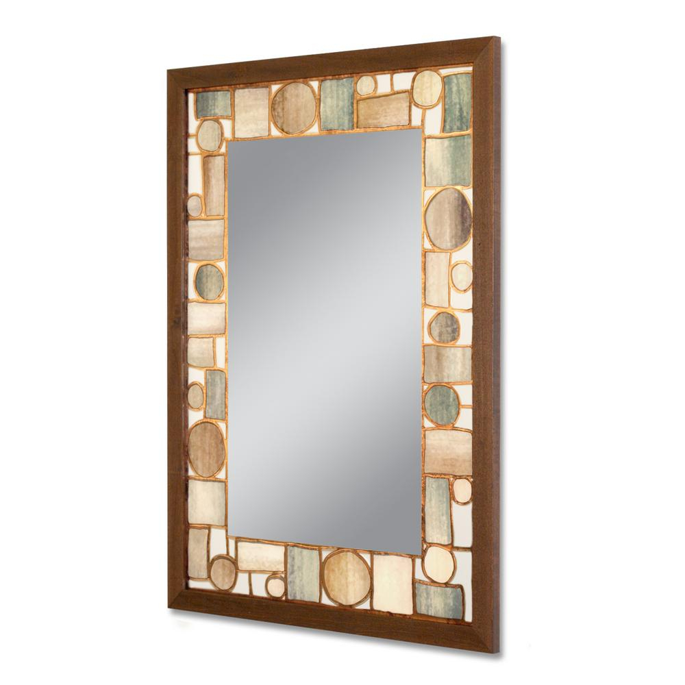 Fashionable Copper Wall Mirrors With Regard To Deco Mirror 24.5 In. W X 34.5 In (View 13 of 20)
