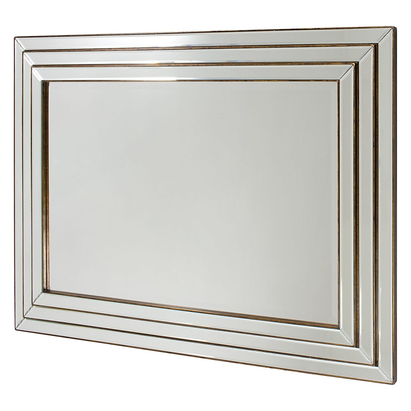 Fashionable Corbyn Wall Mirror Regarding Triple Wall Mirrors (View 4 of 20)