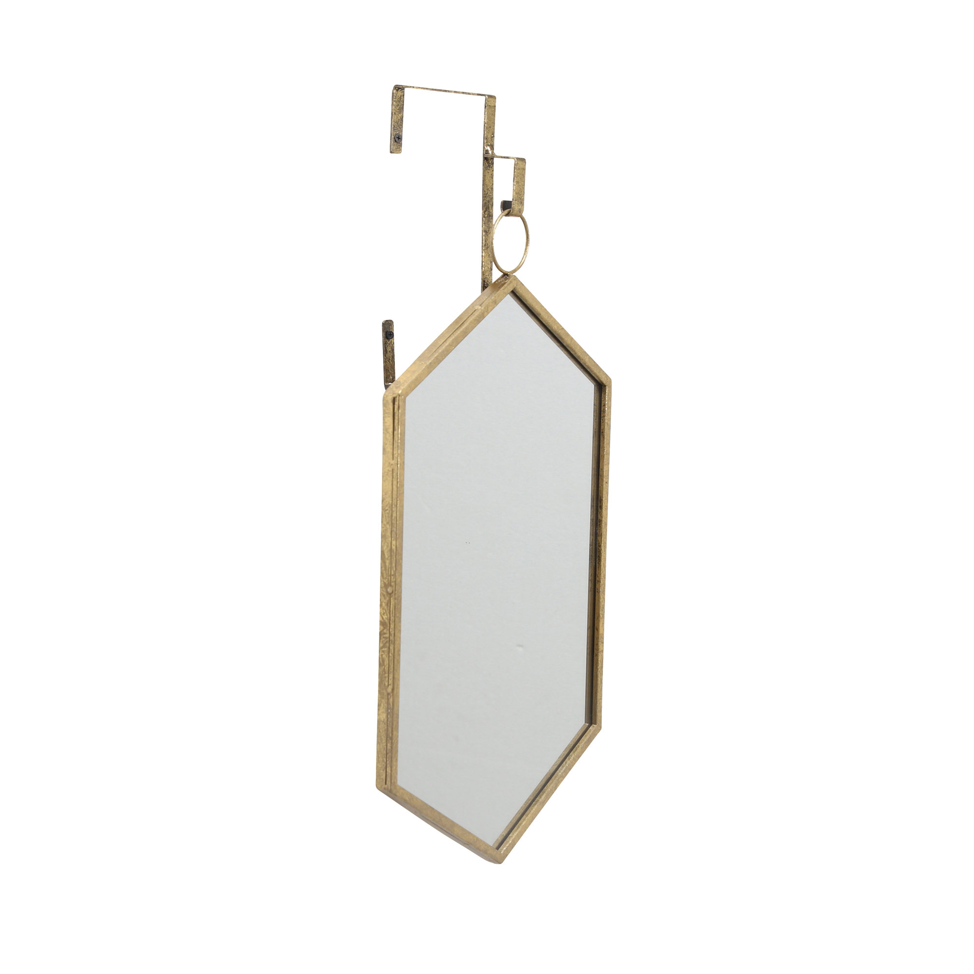 Fashionable Dahill Modern & Contemporary Accent Mirror Throughout 3 Piece Dima Hanging Modern & Contemporary Mirror Sets (View 12 of 20)