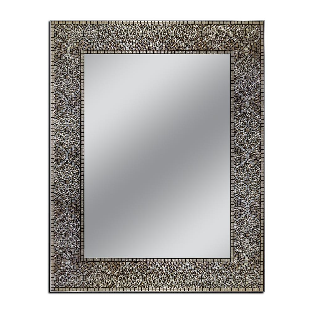 Fashionable Deco Mirror Moroccan 22 In. W X 28 In (View 5 of 20)