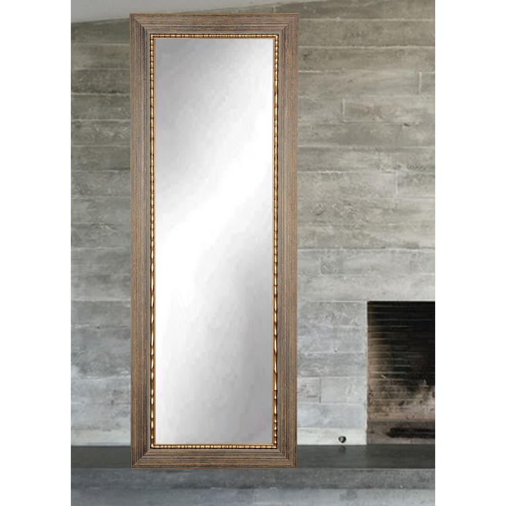 Fashionable Framed Full Length Wall Mirrors With Regard To Bronze Wood Trail Full Length Wall Mirror (View 11 of 20)