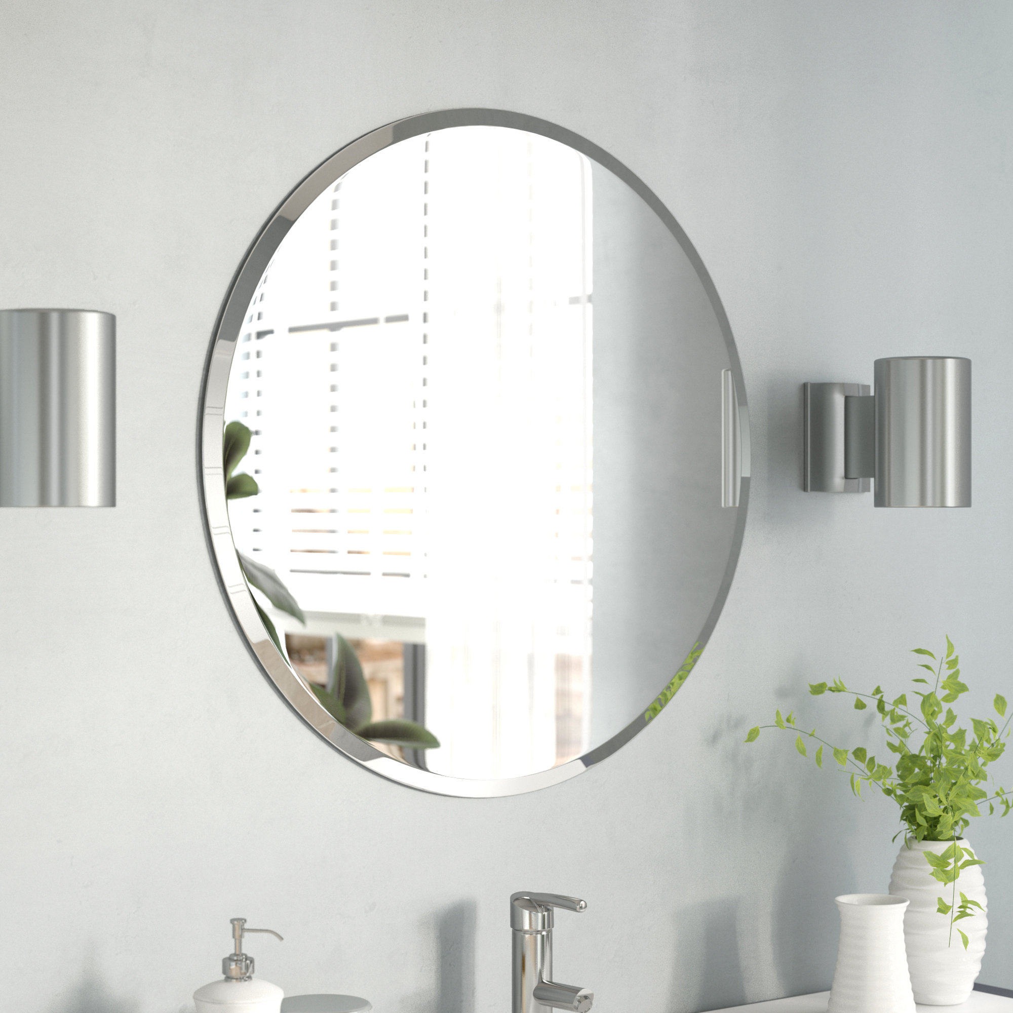 Fashionable Gaunts Earthcott Wall Mirror Intended For Gaunts Earthcott Modern & Contemporary Beveled Accent Mirrors (View 2 of 20)