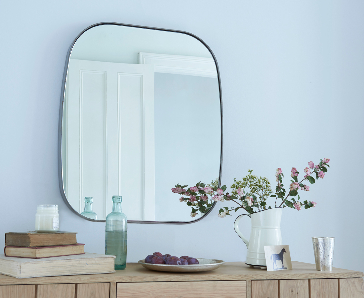 Fashionable Large Square Wall Mirrors With Regard To Albie (View 8 of 20)