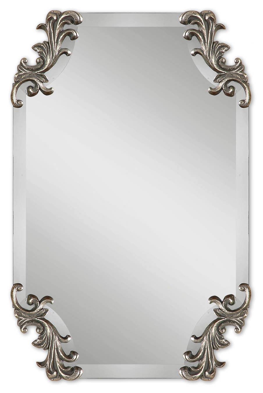 Fashionable Liggins Borchardt Beveled Wall Mirror Regarding Alissa Traditional Wall Mirrors (View 8 of 20)