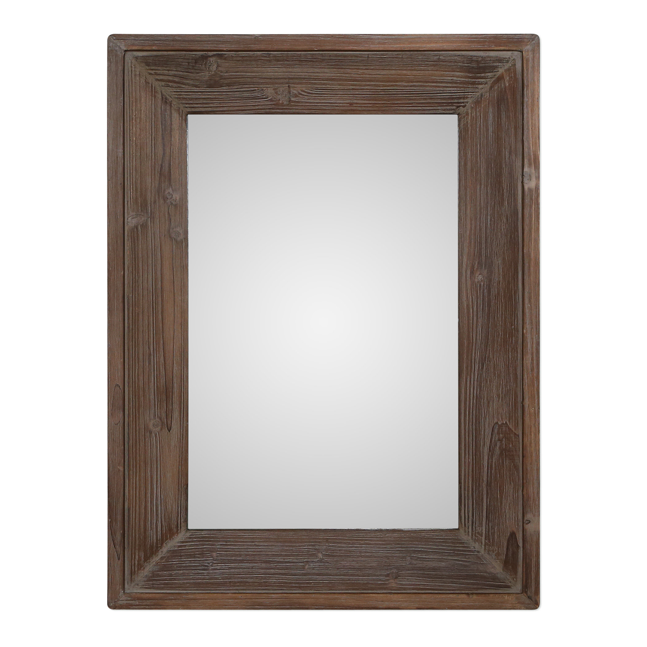 Fashionable Retangle Brown Wall Mirror With Regard To Berinhard Accent Mirrors (View 14 of 20)