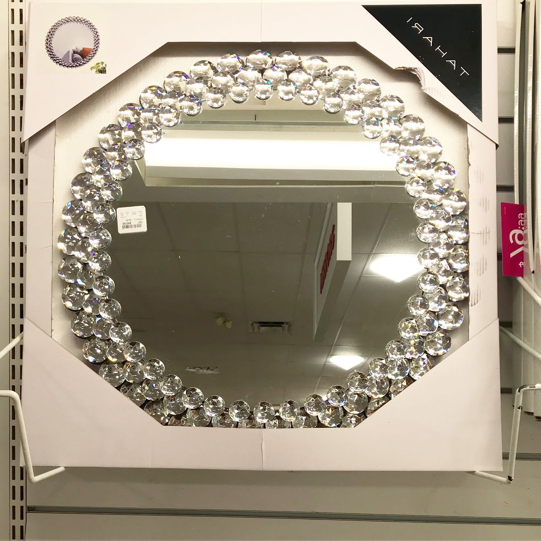 Fashionable Tahari Wall Mirror Finds @homegoods • • • • • • #homegoods Intended For Home Wall Mirrors (View 3 of 20)