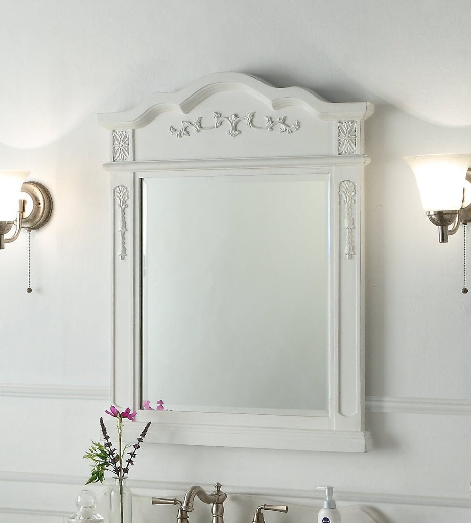 Fashionable Traditional Wall Mirrors Intended For Benson 28 Inch Wall Mirror Mr021W (Gallery 16 of 20)