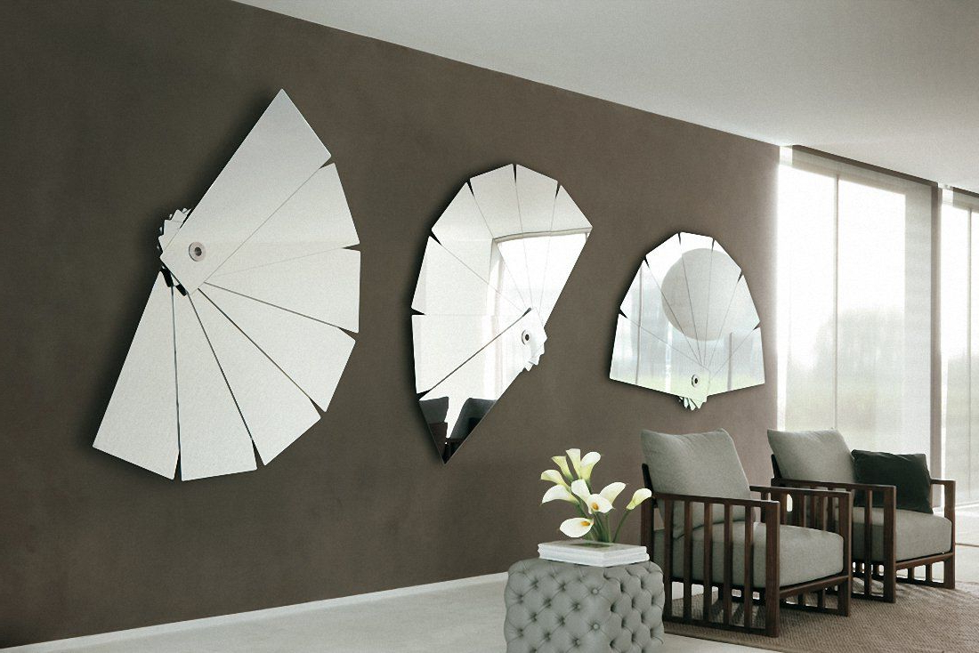 Fashionable Unusual Decorating Decor Modern Images Contemporary Round In Unusual Large Wall Mirrors (Gallery 7 of 20)
