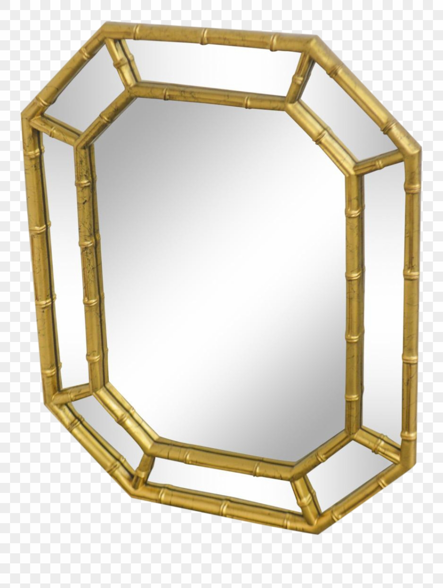 Faux Bamboo Vintage Gold Frame Wall Mirror Chairish – Gold Bamboo Regarding Widely Used Bamboo Framed Wall Mirrors (View 9 of 20)