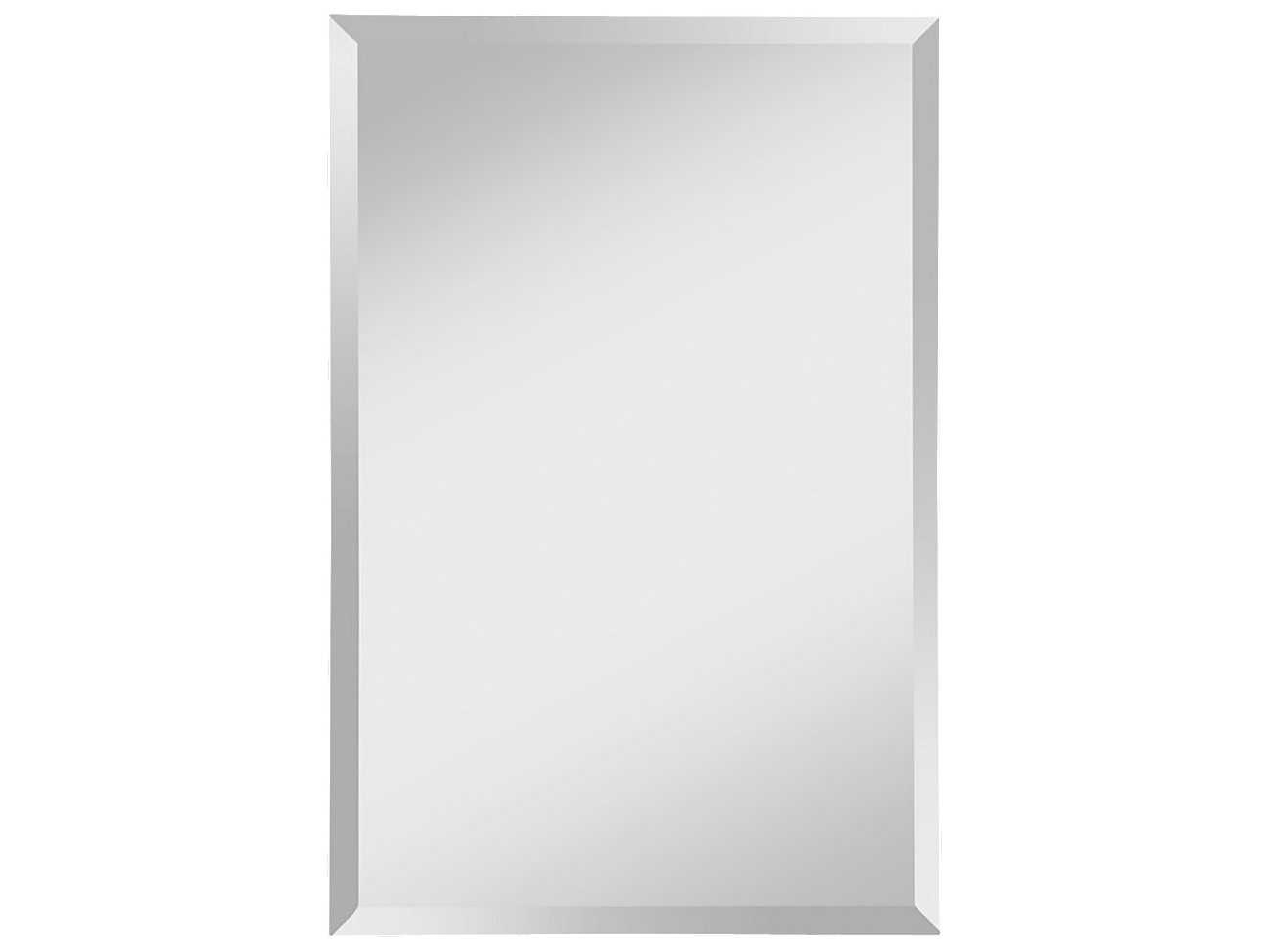 Favorite 24 X 36 Wall Mirrors With Feiss Infinity 24 X 36 Mirrored Wall Mirror (View 12 of 20)