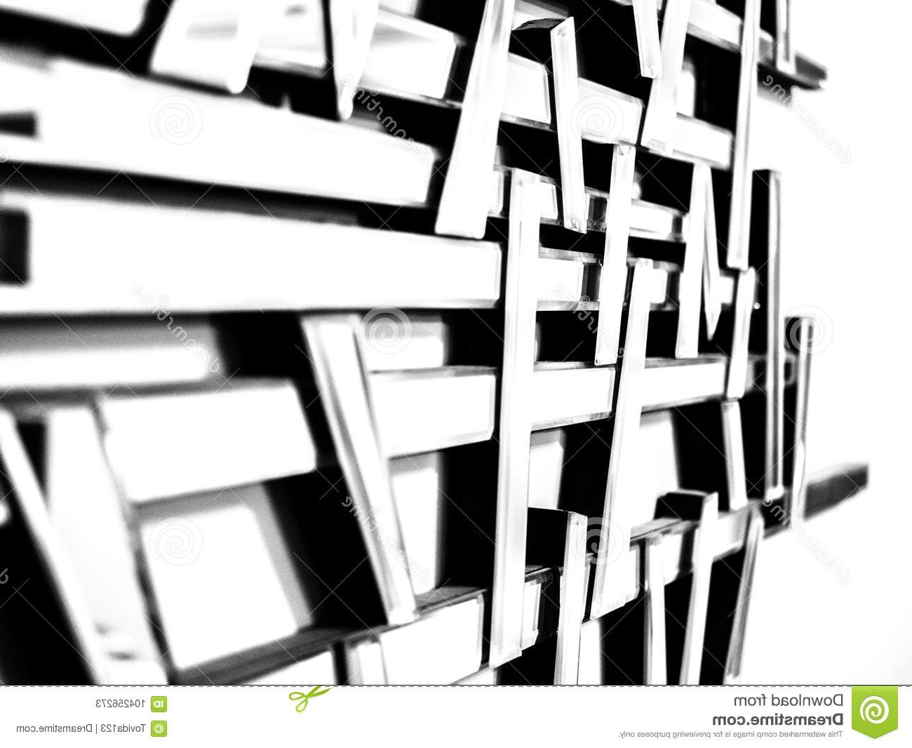 Favorite Abstract Wall Mirrors Inside Abstract Wall Mirror With Different Focus 3 Stock Image – Image Of (View 11 of 20)