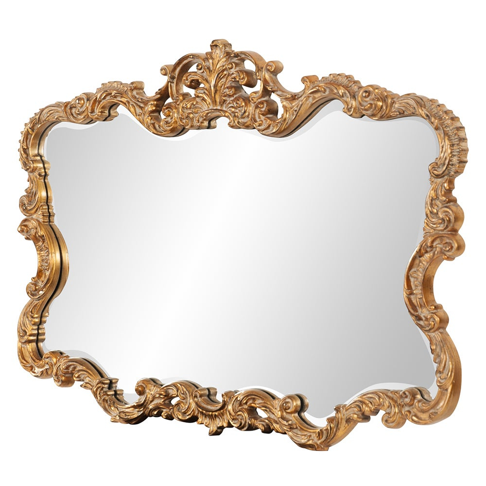 Favorite Allan Andrews Talida Gold Wall Mirror With Regard To Talida Wall Mirrors (View 4 of 20)