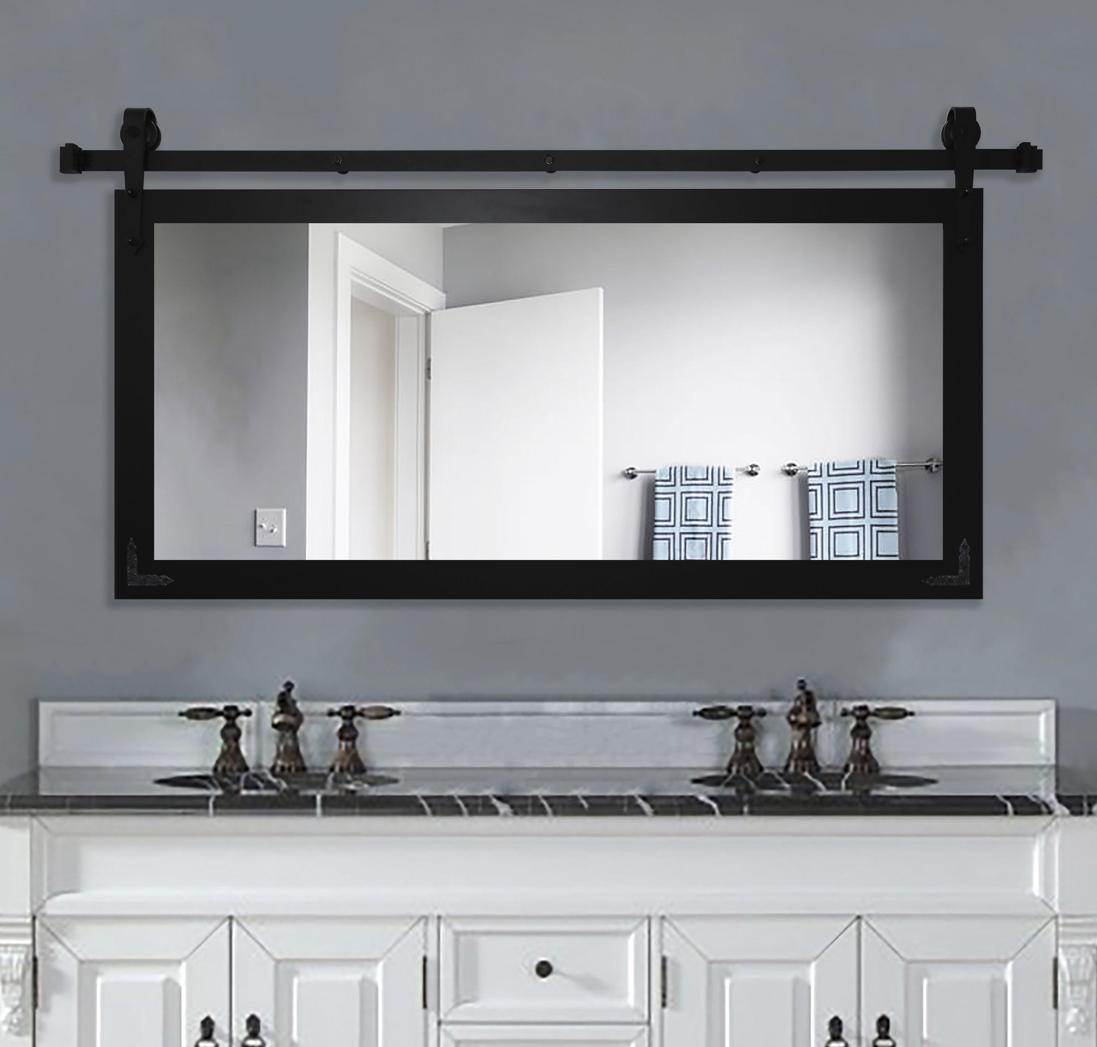 Favorite Bathroom Vanity Wall Mirrors Inside Nicholle Bathroom/vanity Wall Mirror (View 8 of 20)