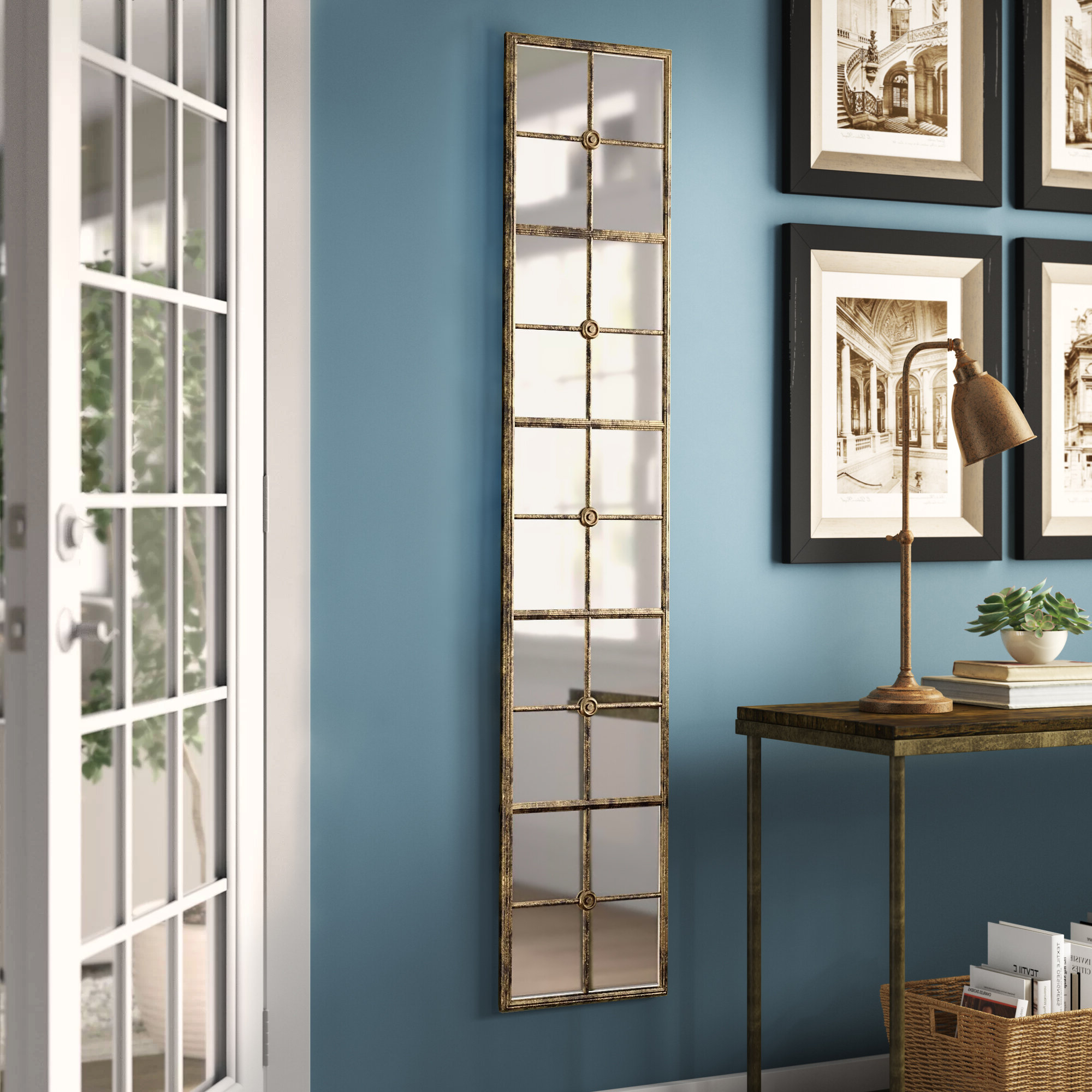 Favorite Birch Lane™ Heritage Rhonda Modern & Contemporary Full Length Mirror With Astrid Modern & Contemporary Accent Mirrors (View 16 of 20)