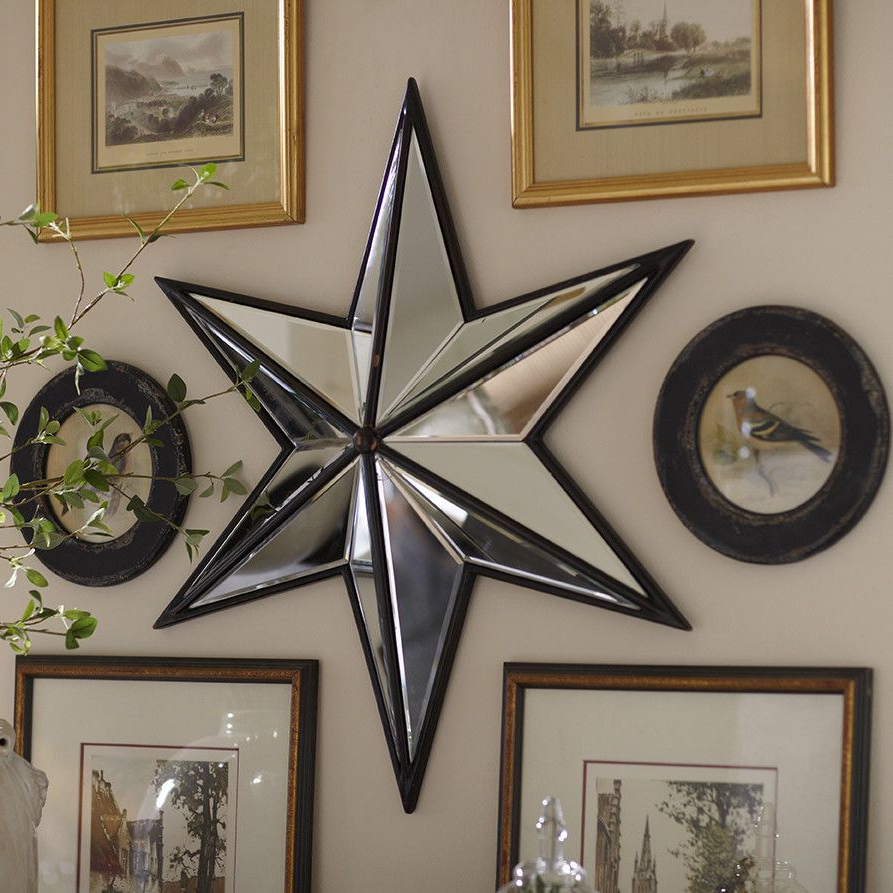 Favorite Birch Lane Nova Mirror Wall Décor – With Three Dimensional For Star Wall Mirrors (View 19 of 20)