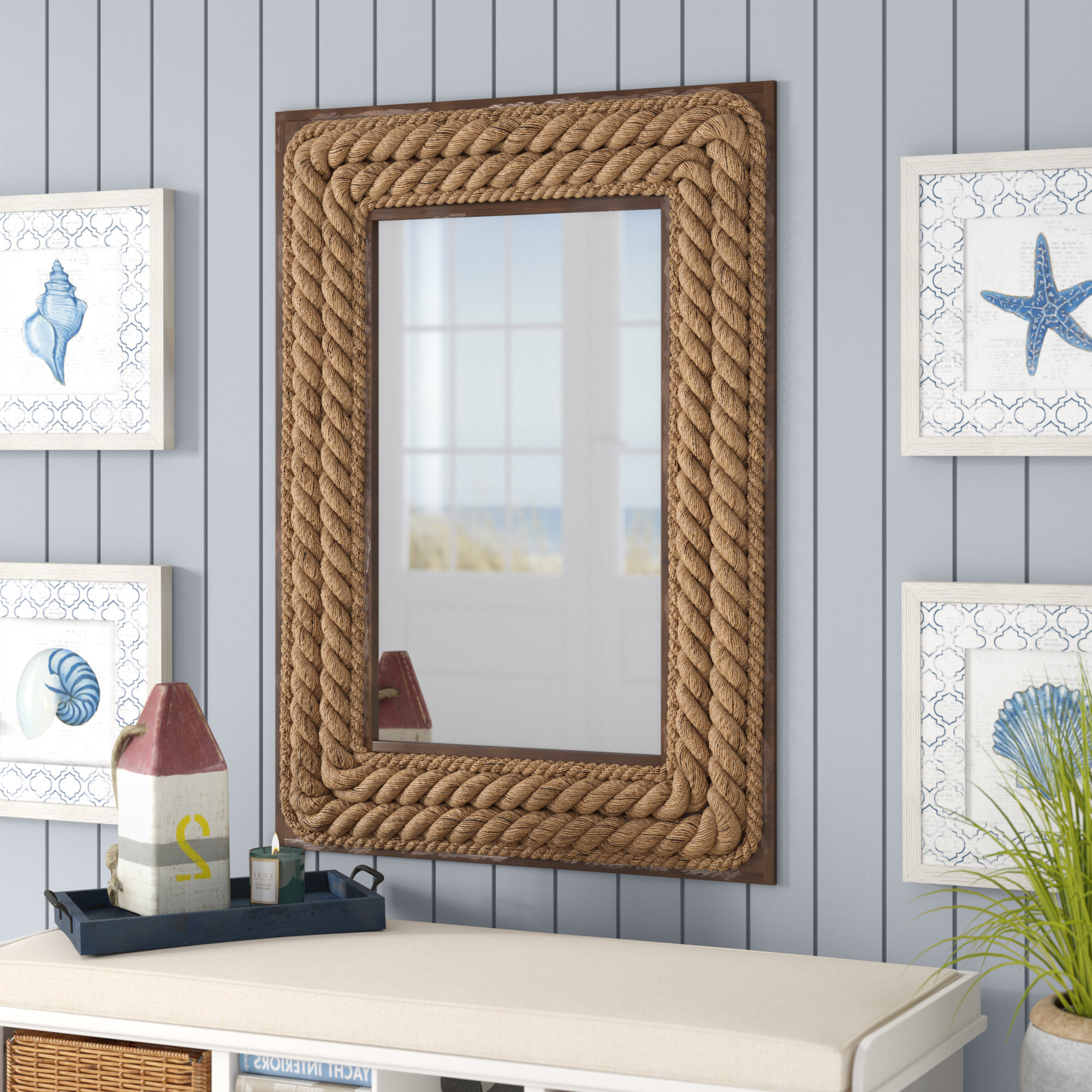 Favorite Breakwater Bay Mcelyea Accent Mirror With Rena Accent Mirrors (View 8 of 20)
